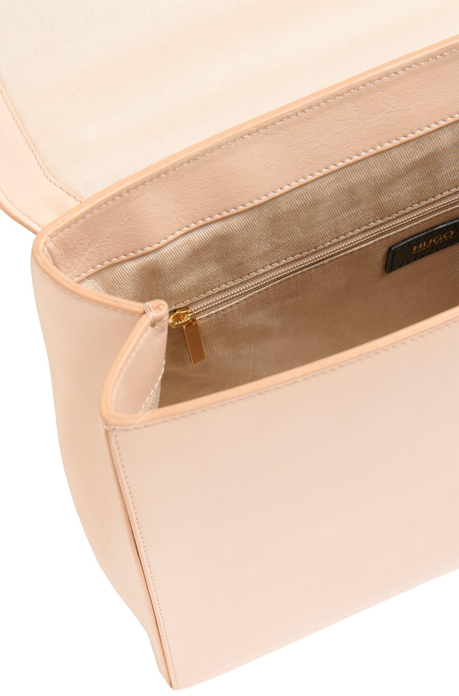Handtasche aus Leder im Struktur-Mix: 'Cathleen'