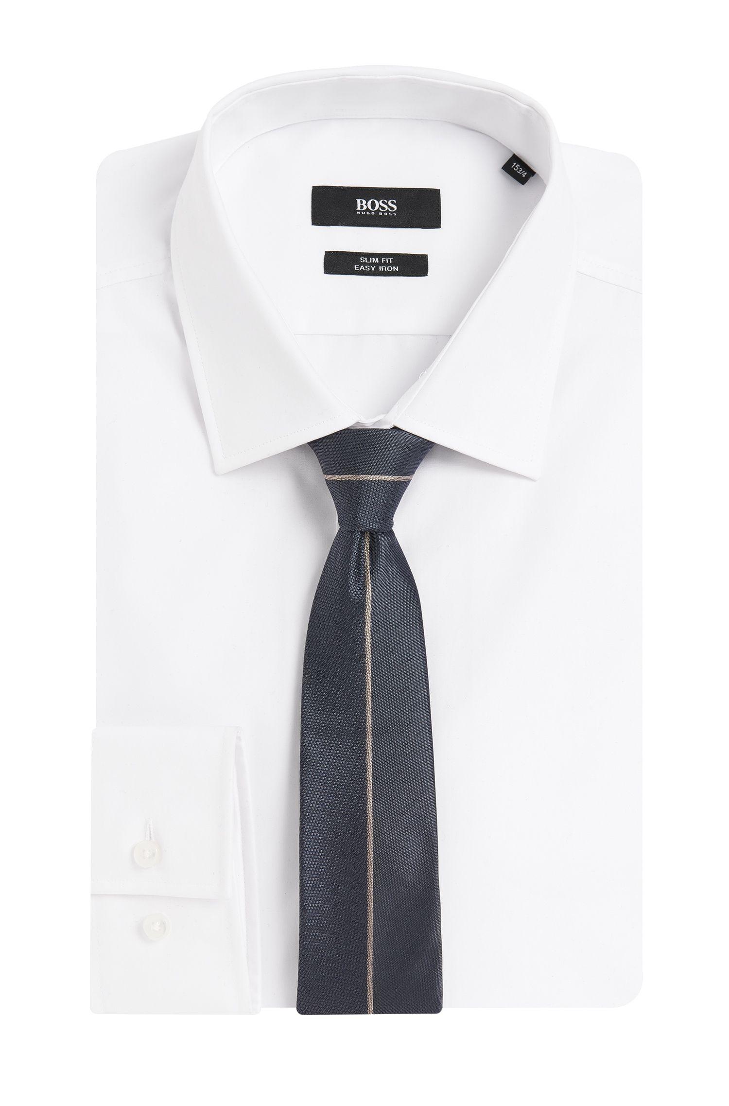 Cravate en soie avec mélange de motifs: «T-Tie6cm»
