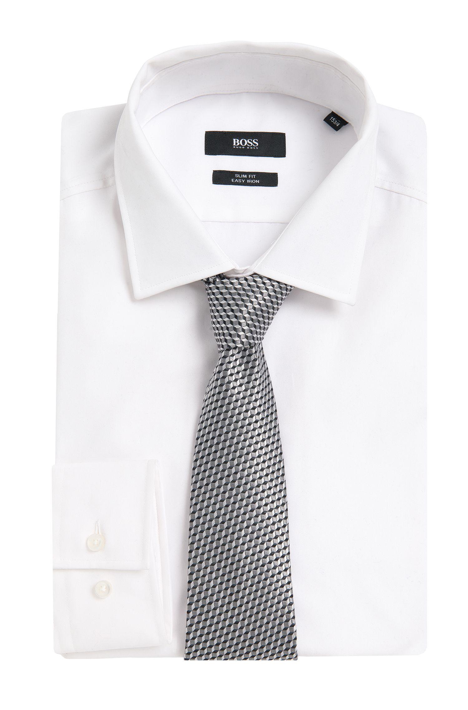 Gestreifte Krawatte aus Seide: 'T-Tie 7,5'