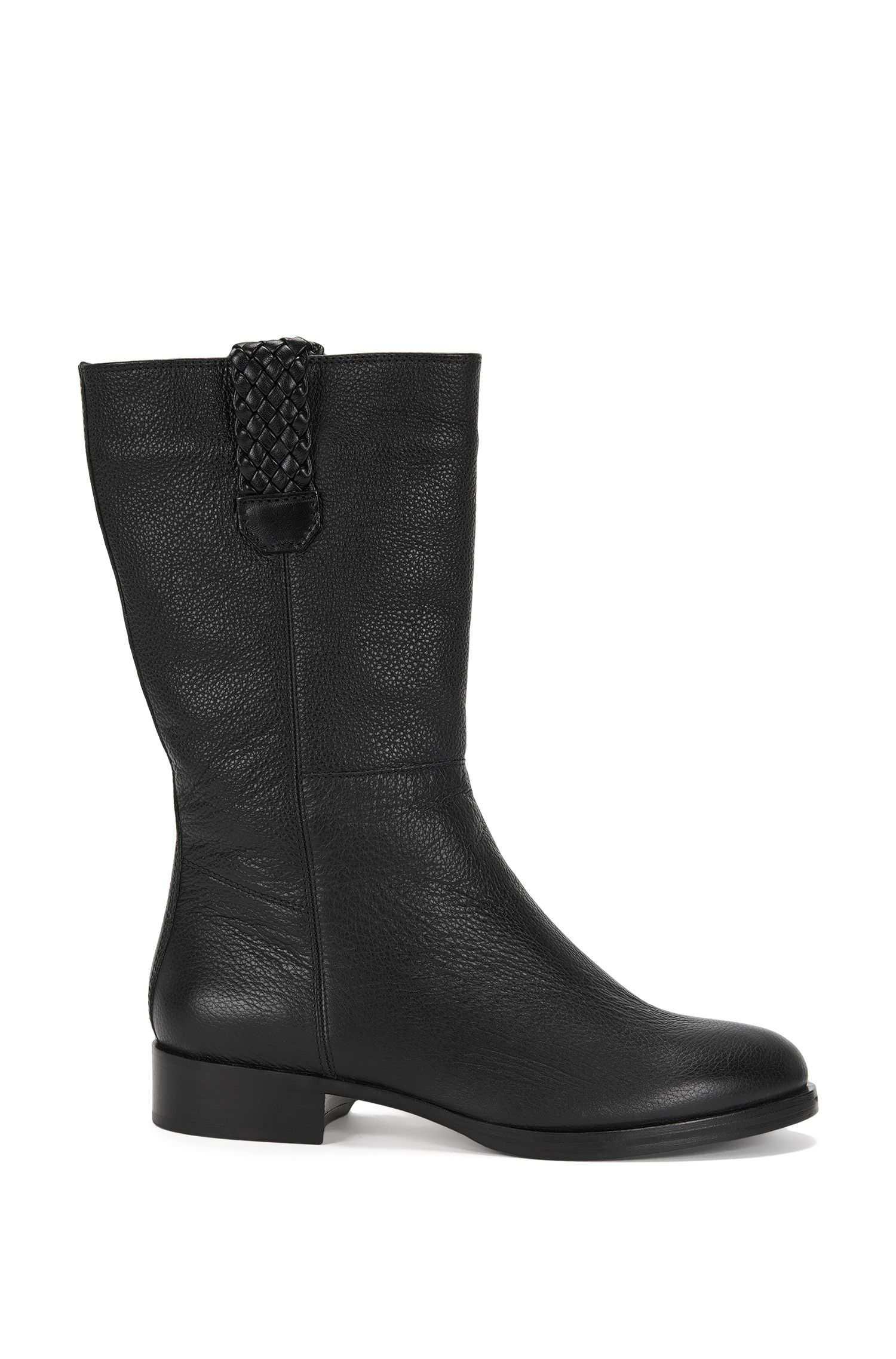 Warmly lined leather boots: 'Gablin'