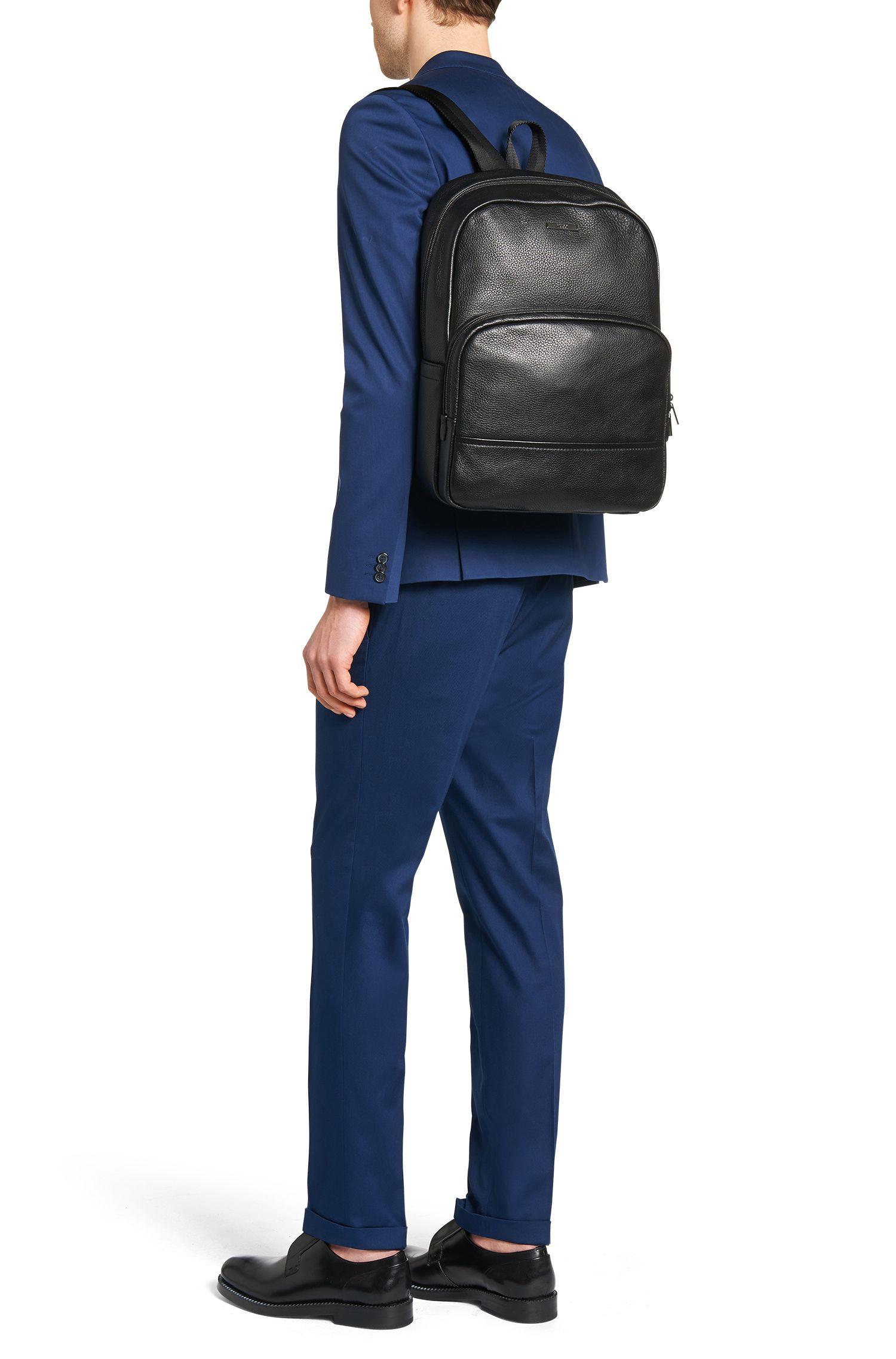 Sac à dos en cuir grené: «Element_Backpack»