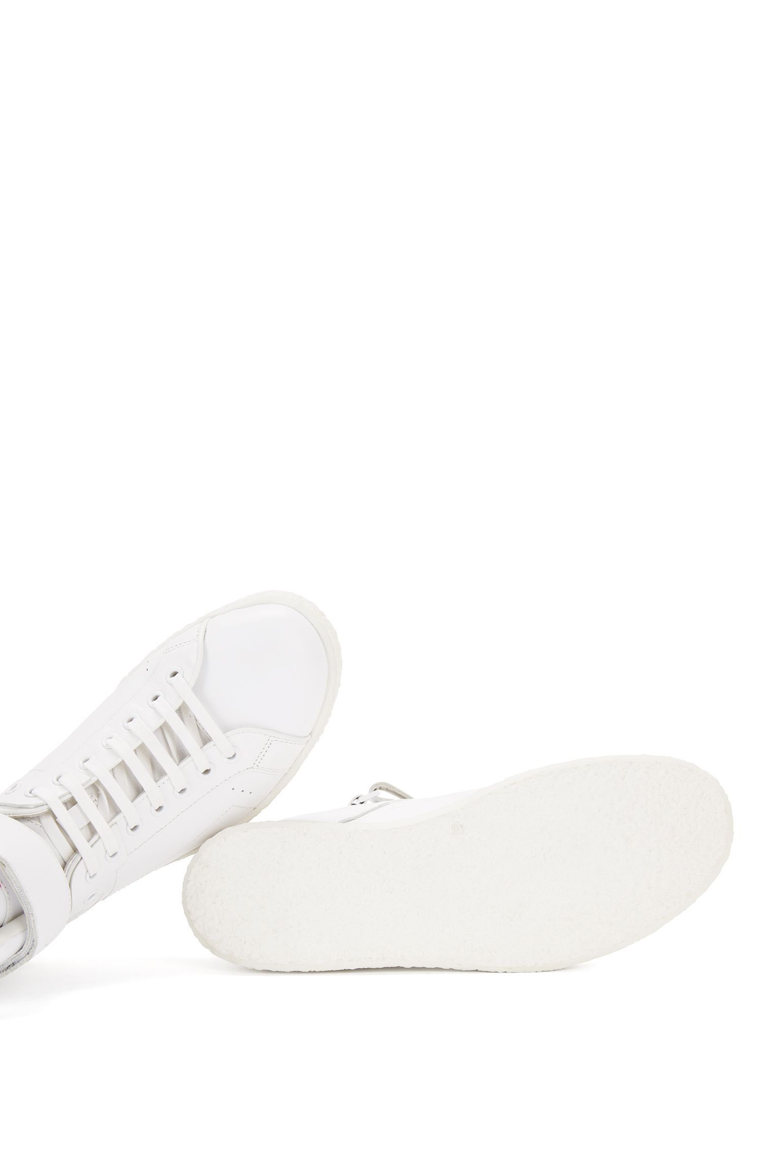 Sneakers aus Leder mit Klettverschluss: 'Cadeen-Crepe'
