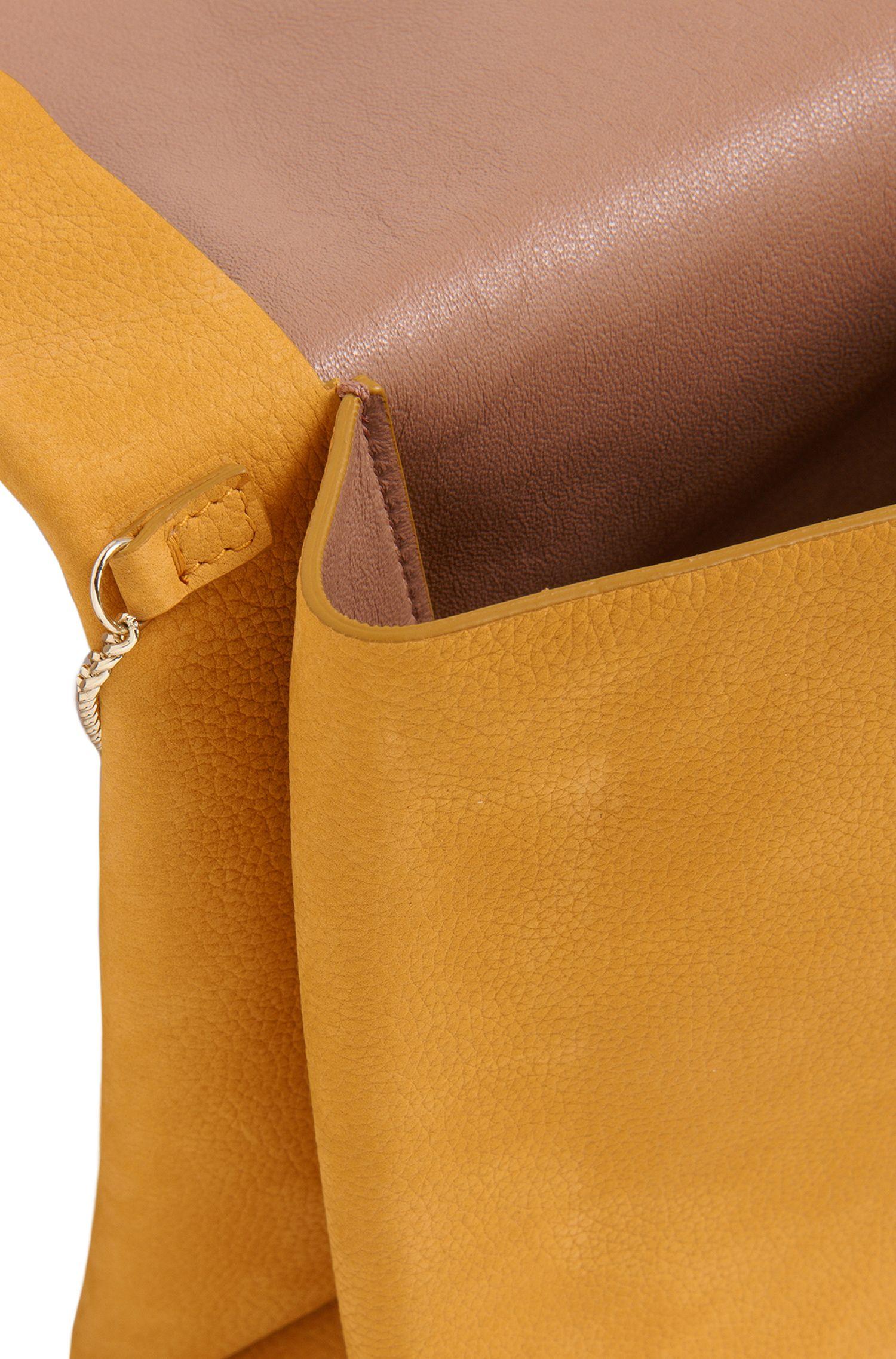 Clutch aus geprägtem Leder: 'Luxury Staple-C-N'