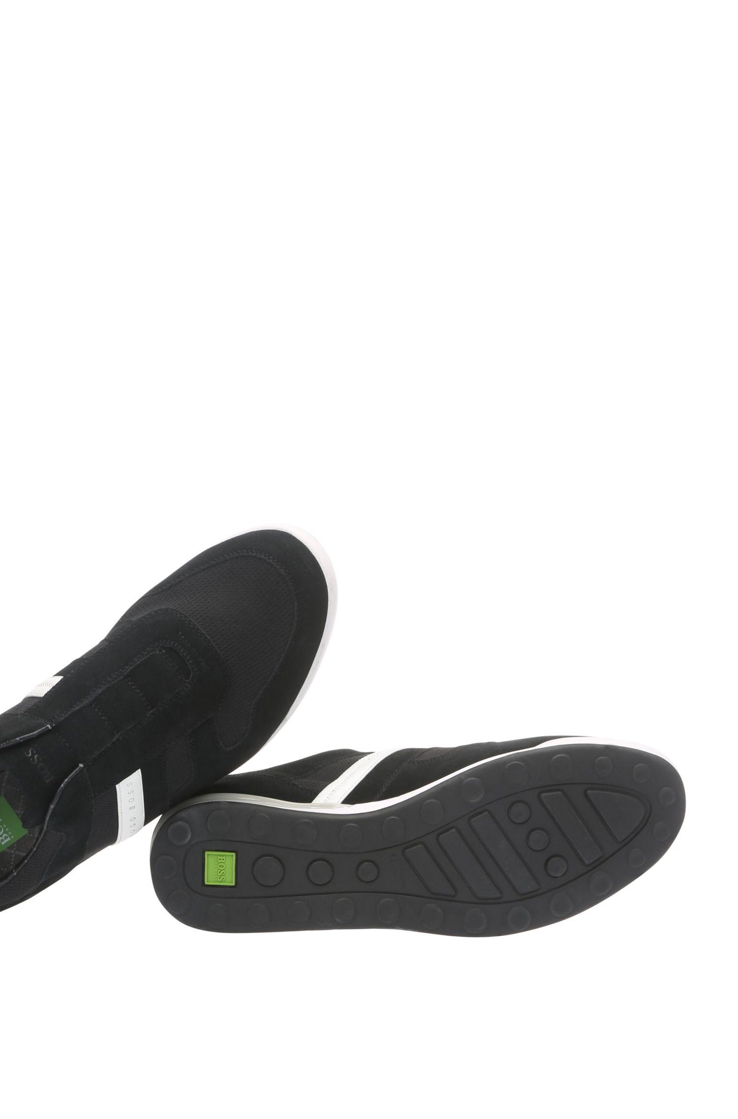 Leren sneakers van een materiaalmix met elastische tong: 'Arkansas_Slon_mxpq'