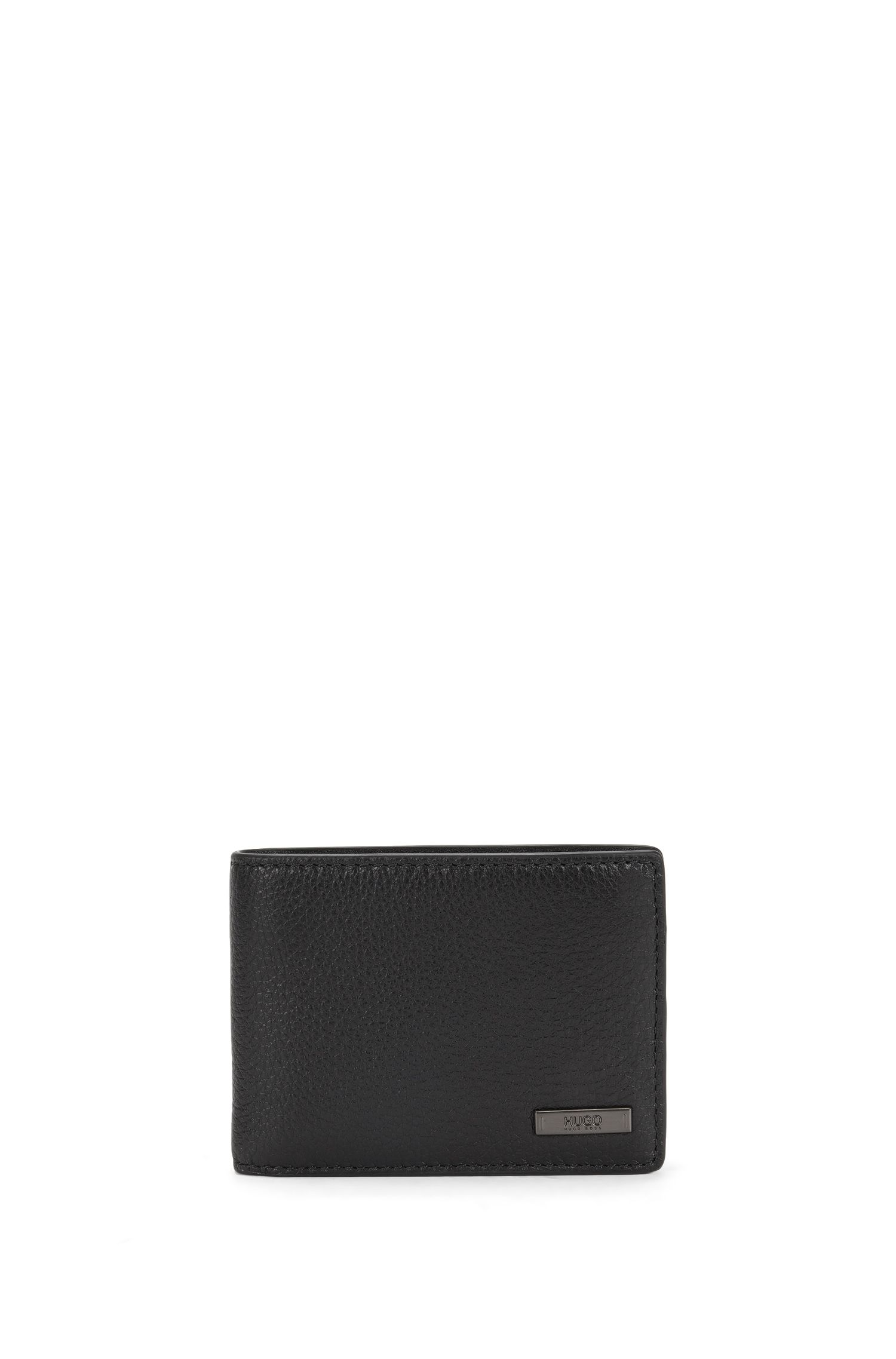 Small-format leather wallet: 'Element_6 cc'