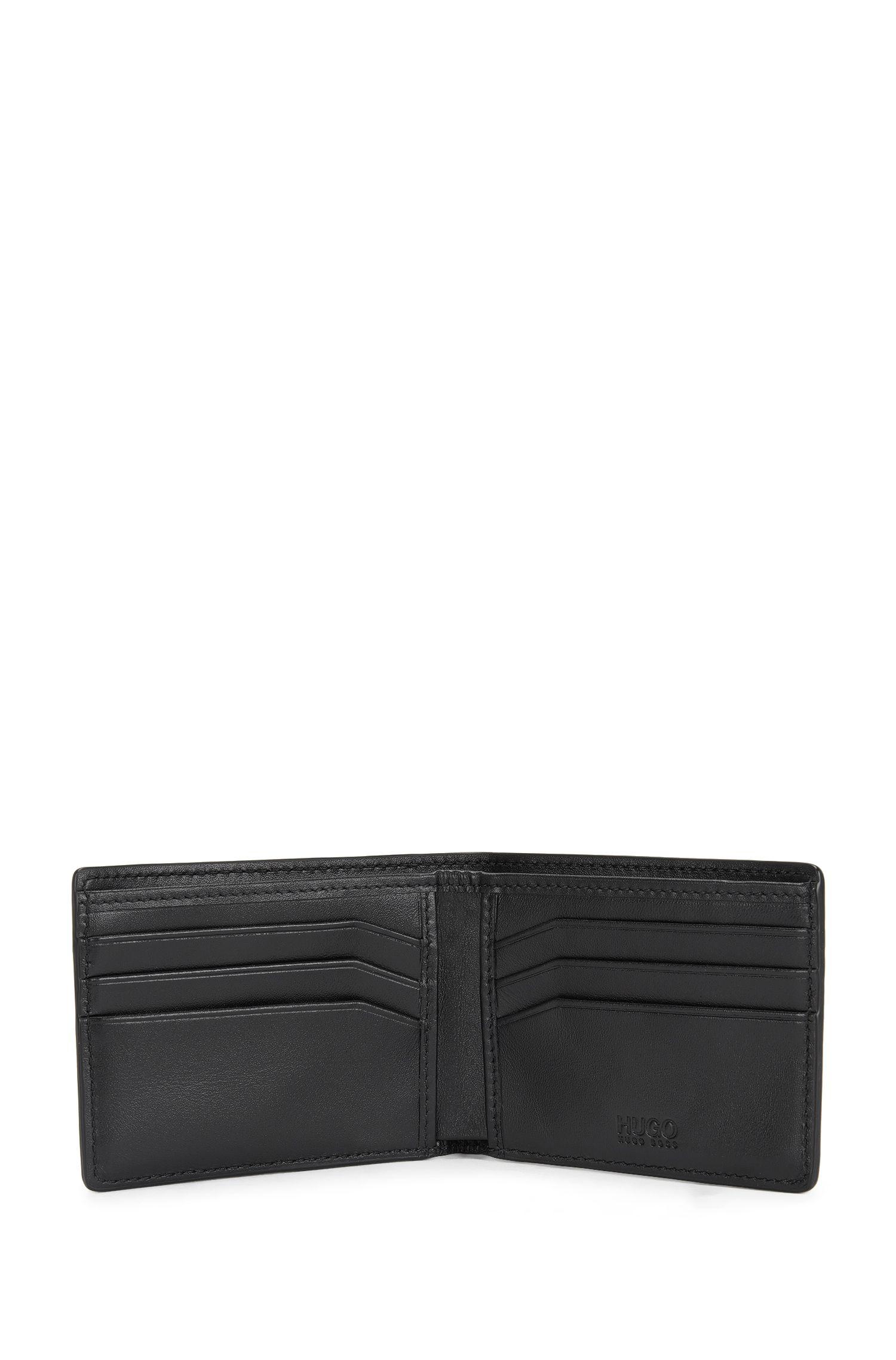 Kleinformatige Geldbörse aus Leder: 'Element_6 cc'