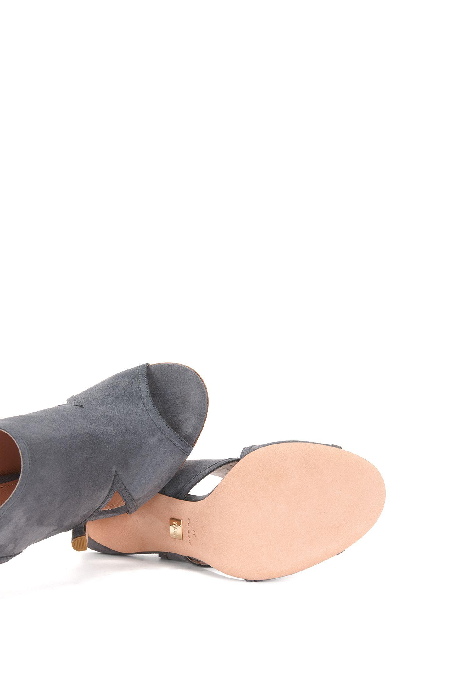 Sandaletten aus Veloursleder mit Schnürung: 'Lady Sandal 100'