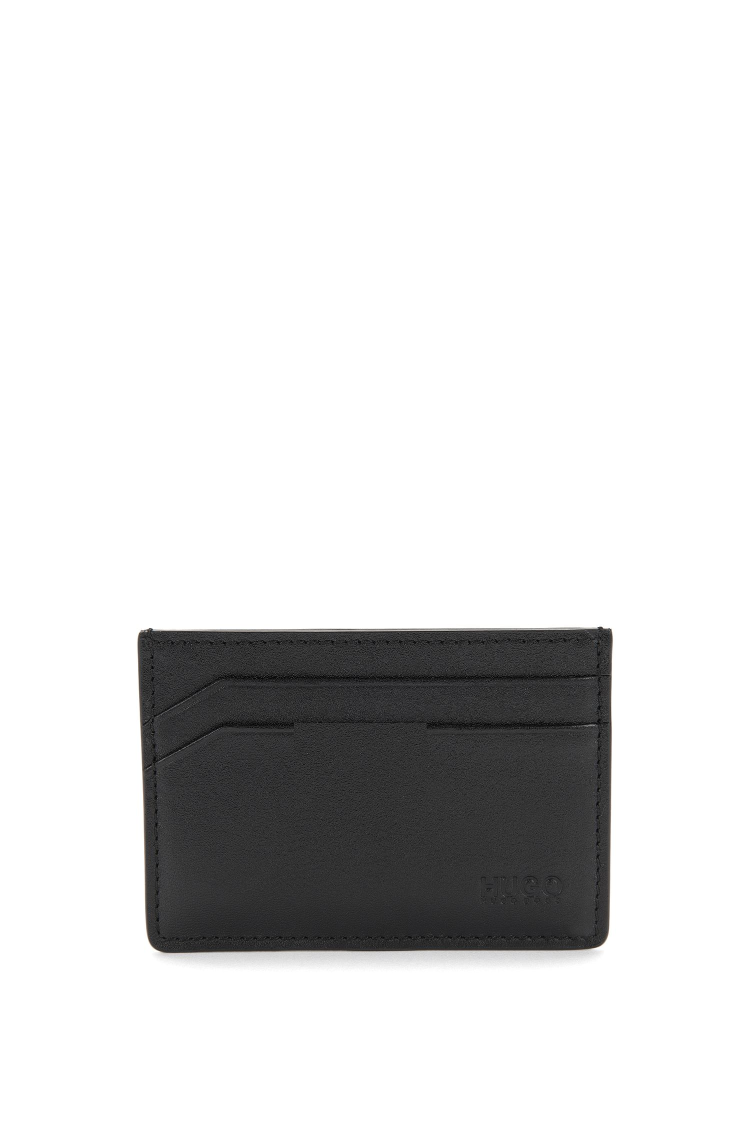 Smooth leather card case: 'Subway_S card'
