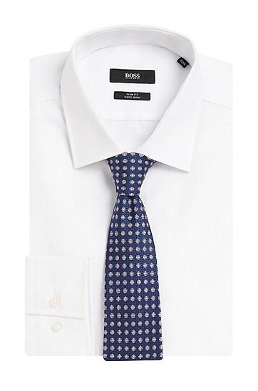Gemusterte Krawatte aus reiner Seide: 'Tie 7,5 cm', Gemustert