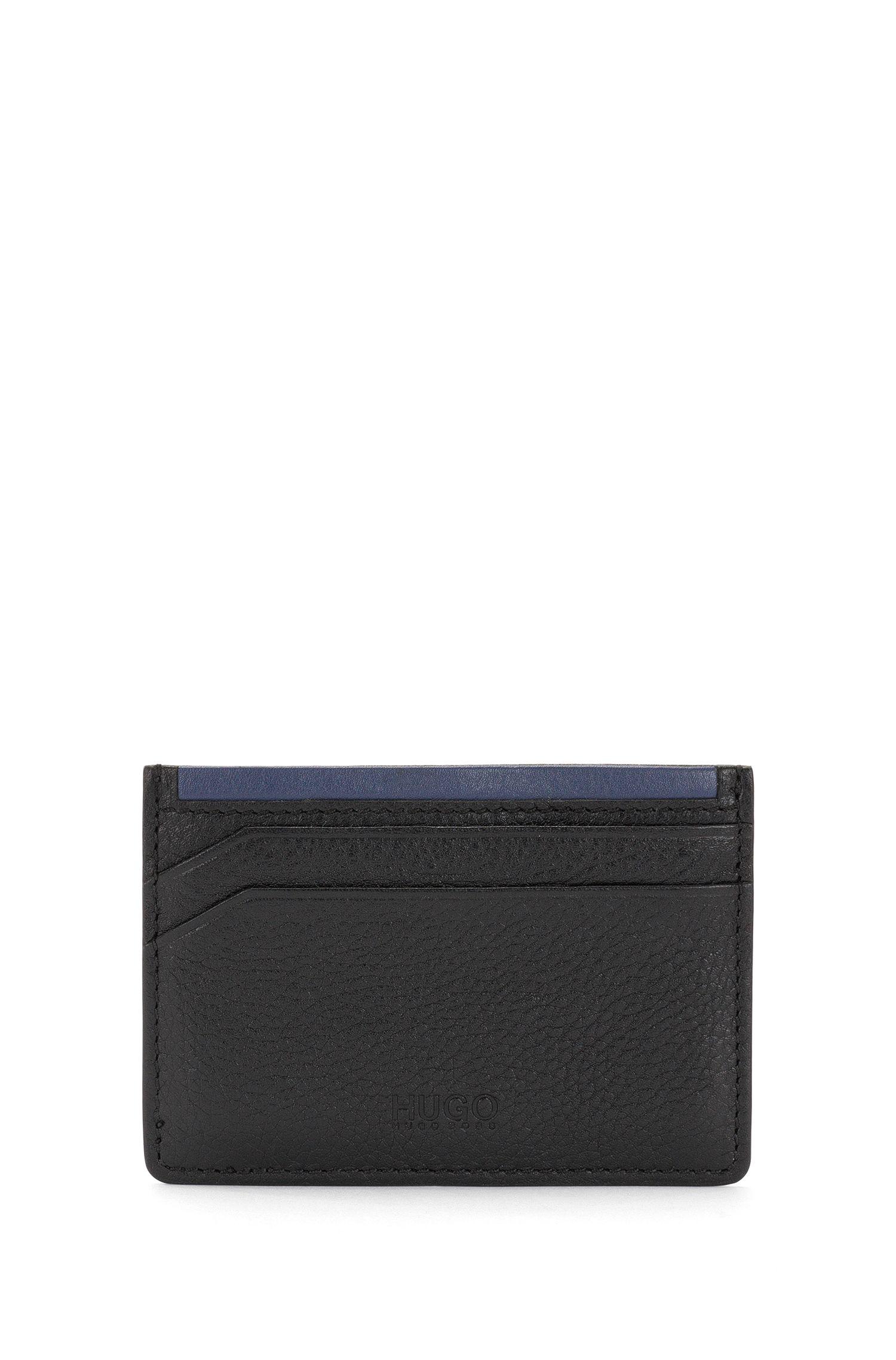 Set bestaande uit een portemonnee en pasjeshouder van leer: 'GbH16PF_8cc S card'