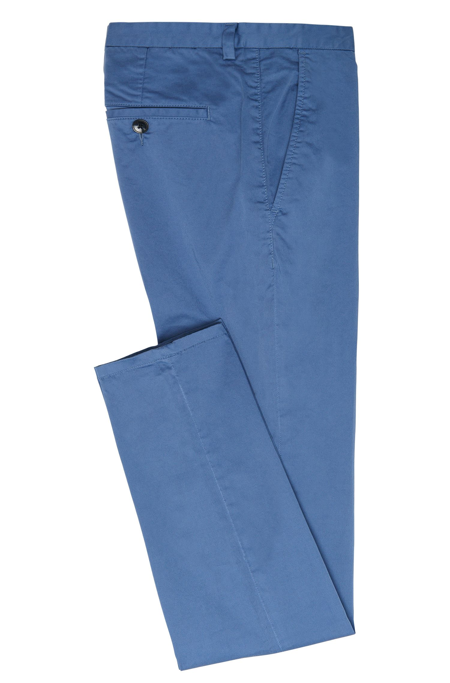 Tapered-Fit Chino aus Stretch-Baumwolle: 'Helgo1-D'