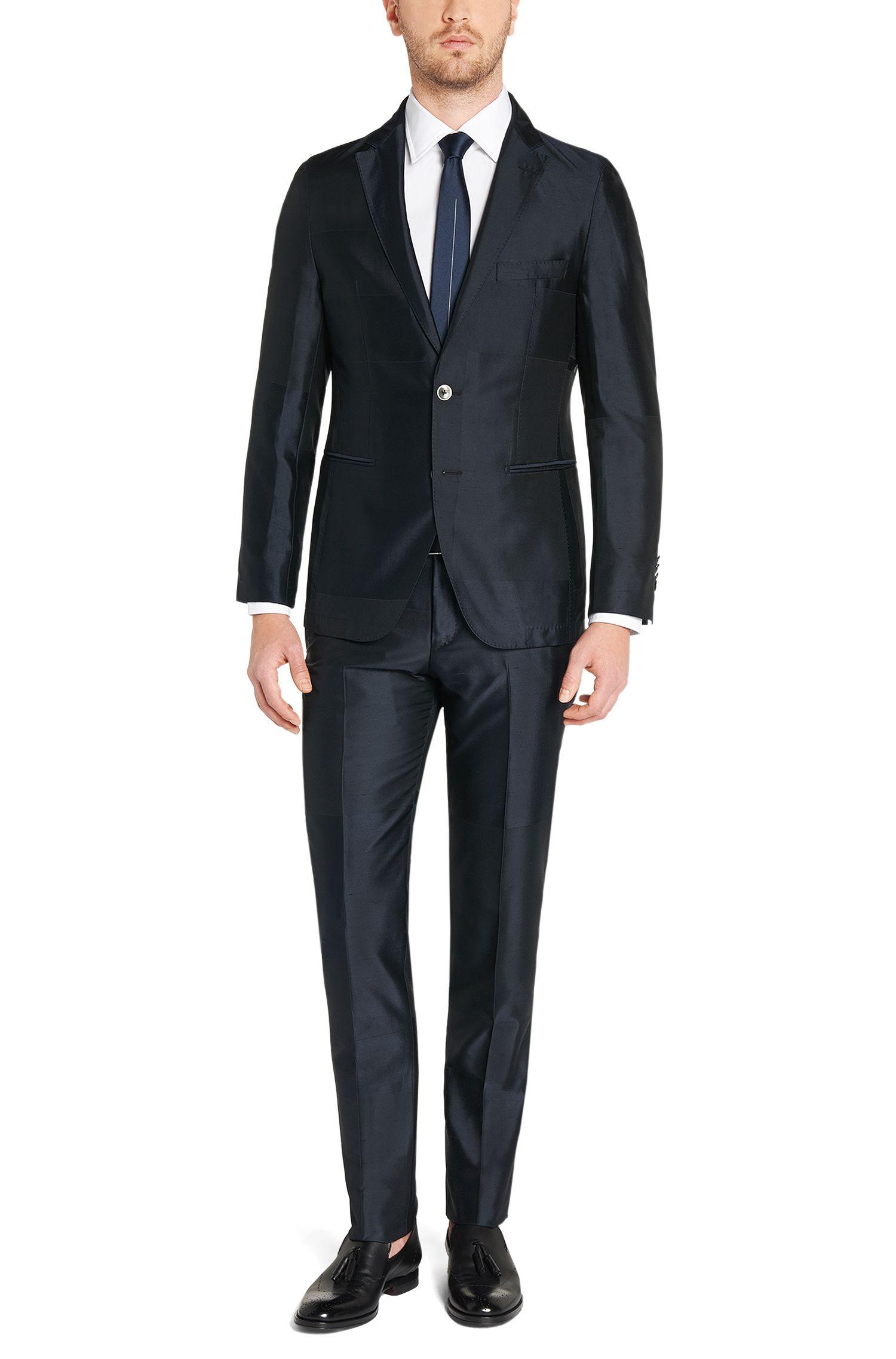 Slim-Fit Tailored Hemd aus reiner Baumwolle: 'T-Shane'