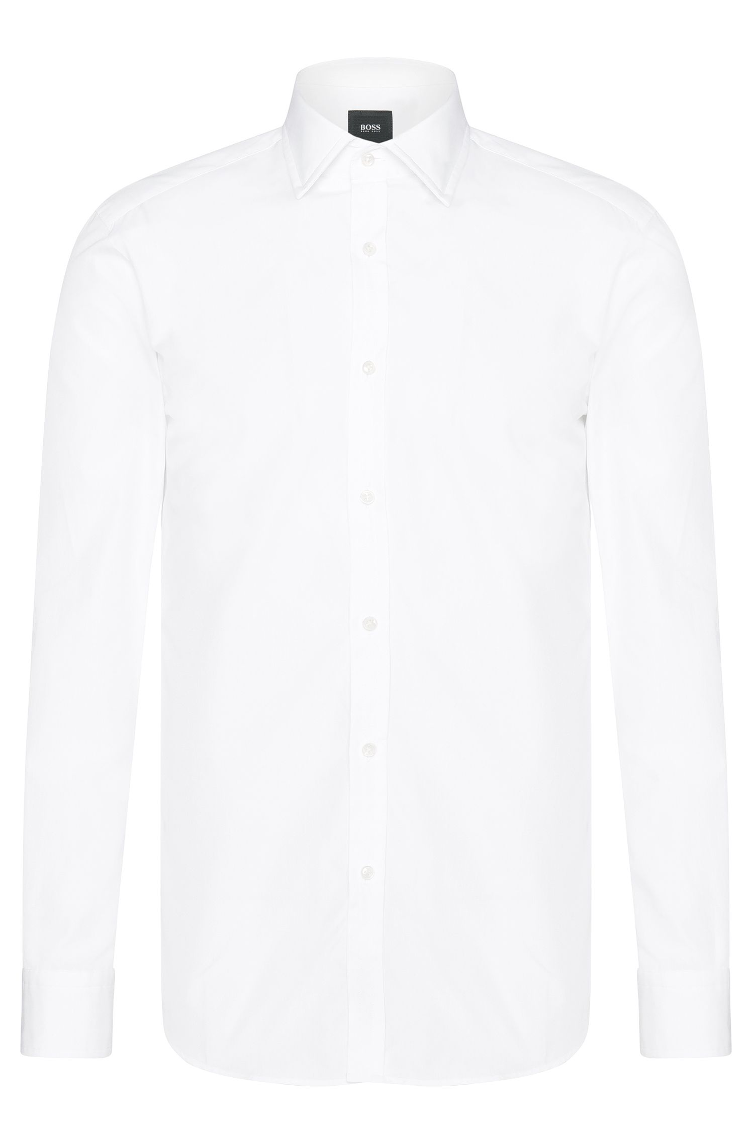 Chemise Slim Fit Tailored en pur coton : « T-Shane »