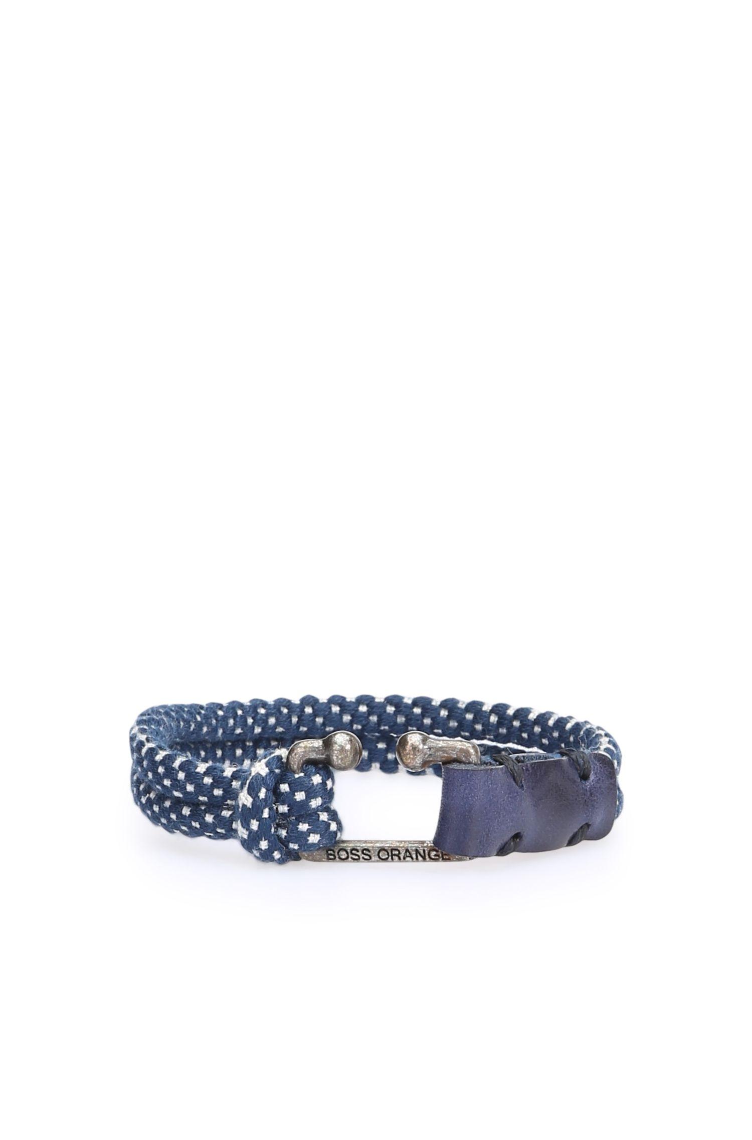 Gemustertes Armband aus zwei Kordeln: ´Mendrix2`