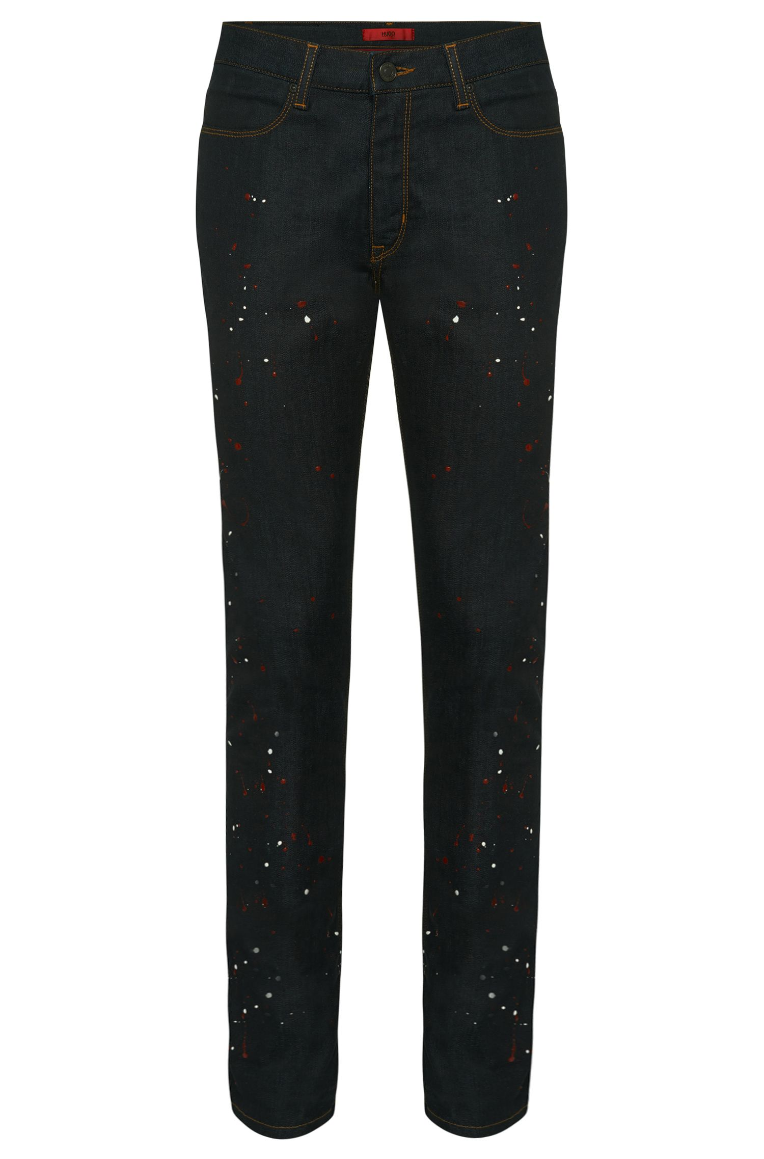 Effektvolle Slim-Fit Jeans aus Stretch-Baumwolle: 'HUGO 734'