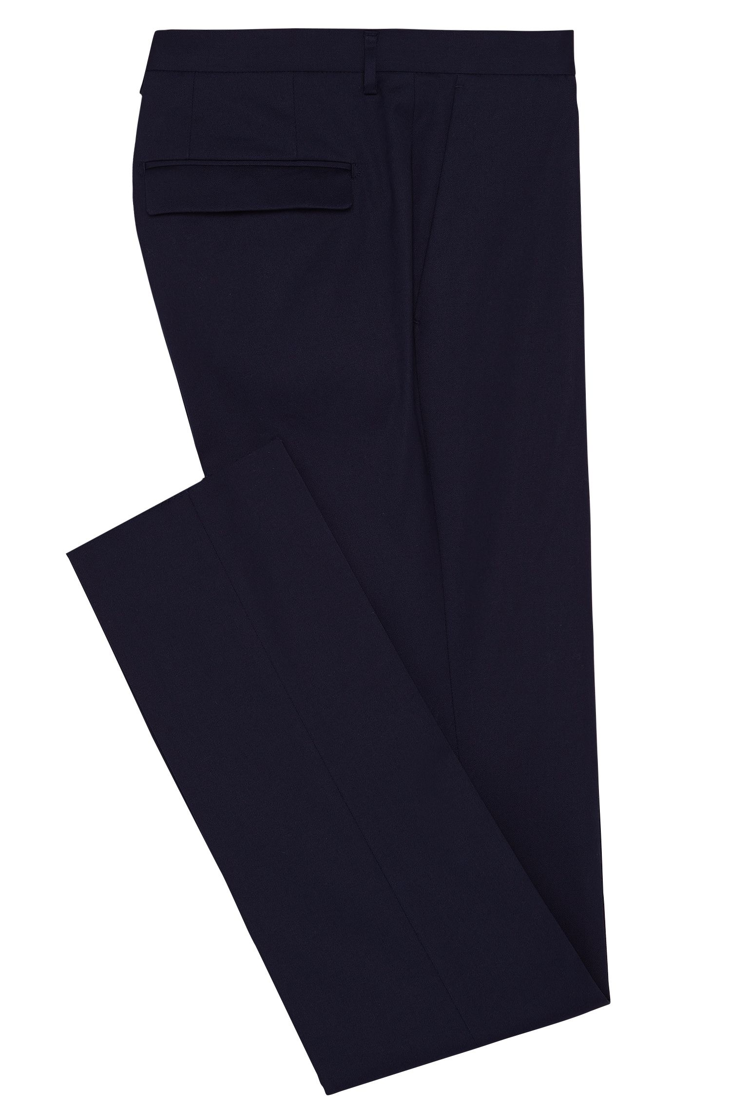 Pantalon Slim Fit en coton stretch : « T-Brady »