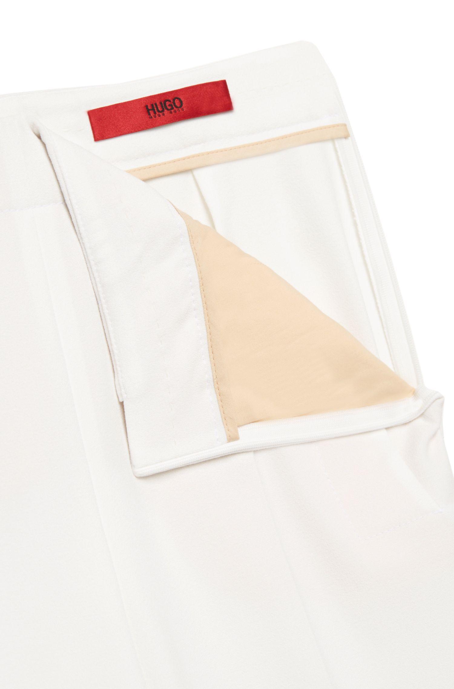 Broek met hoge taille van een elastische stof: 'Hotaru'