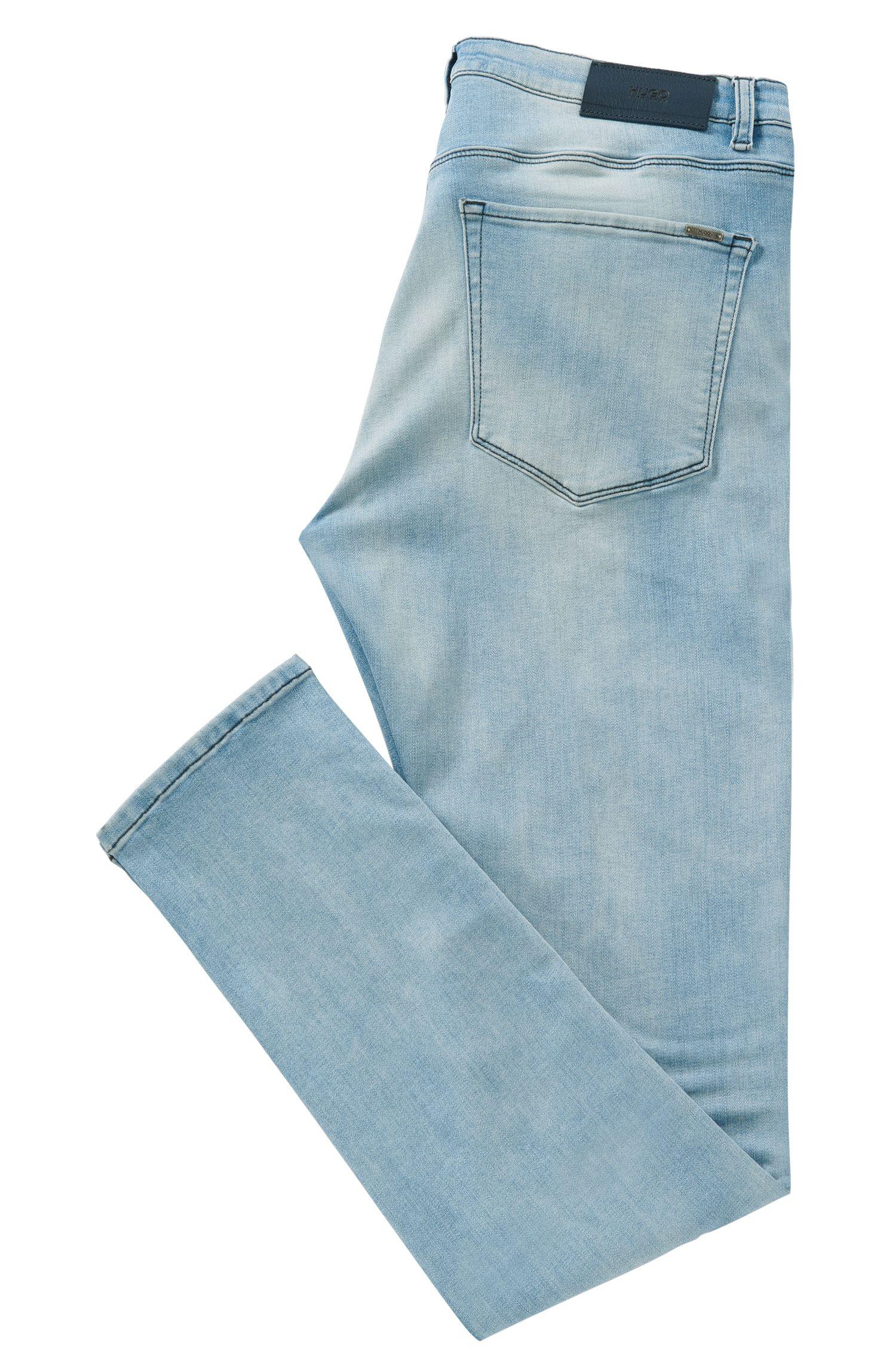 Jeans extra Slim Fit en coton mélangé extensible: «HUGO734»