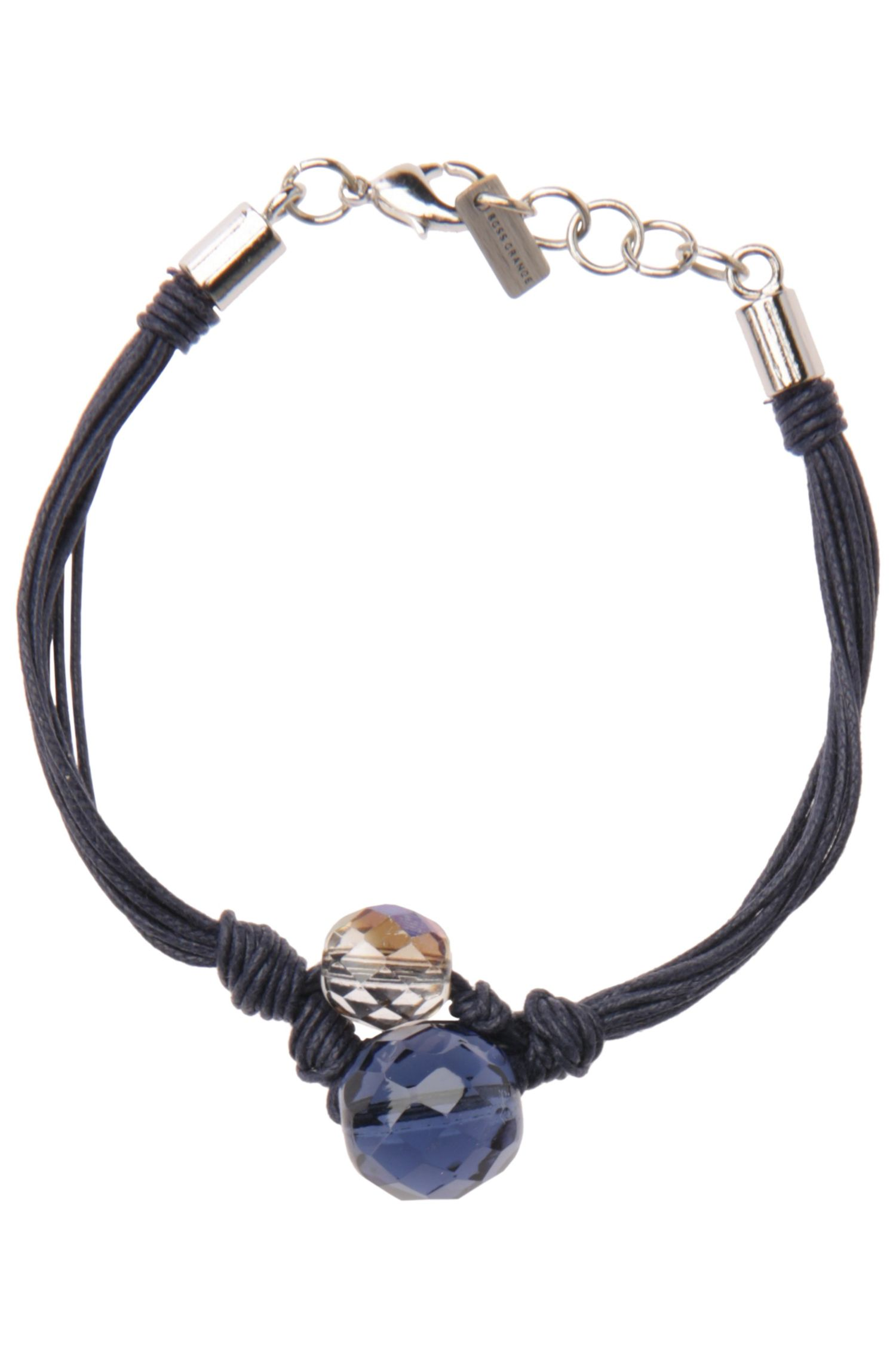 Mehrschnüriges Armband mit großen Schmuckperlen: ´Morgan`