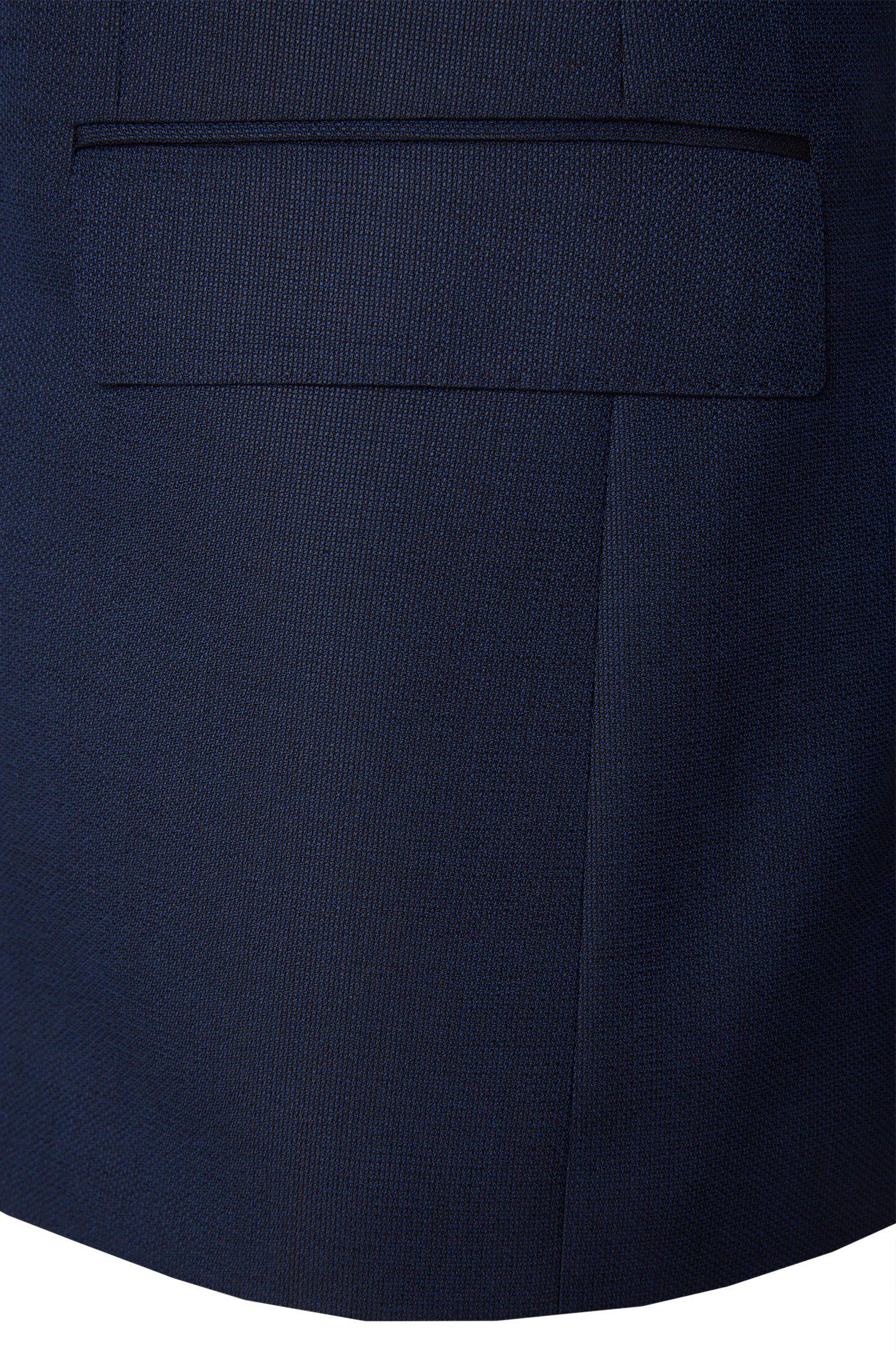 Costume Regular Fit en laine vierge mélangée, avec de la soie et du mohair: «Jewels/Linus»