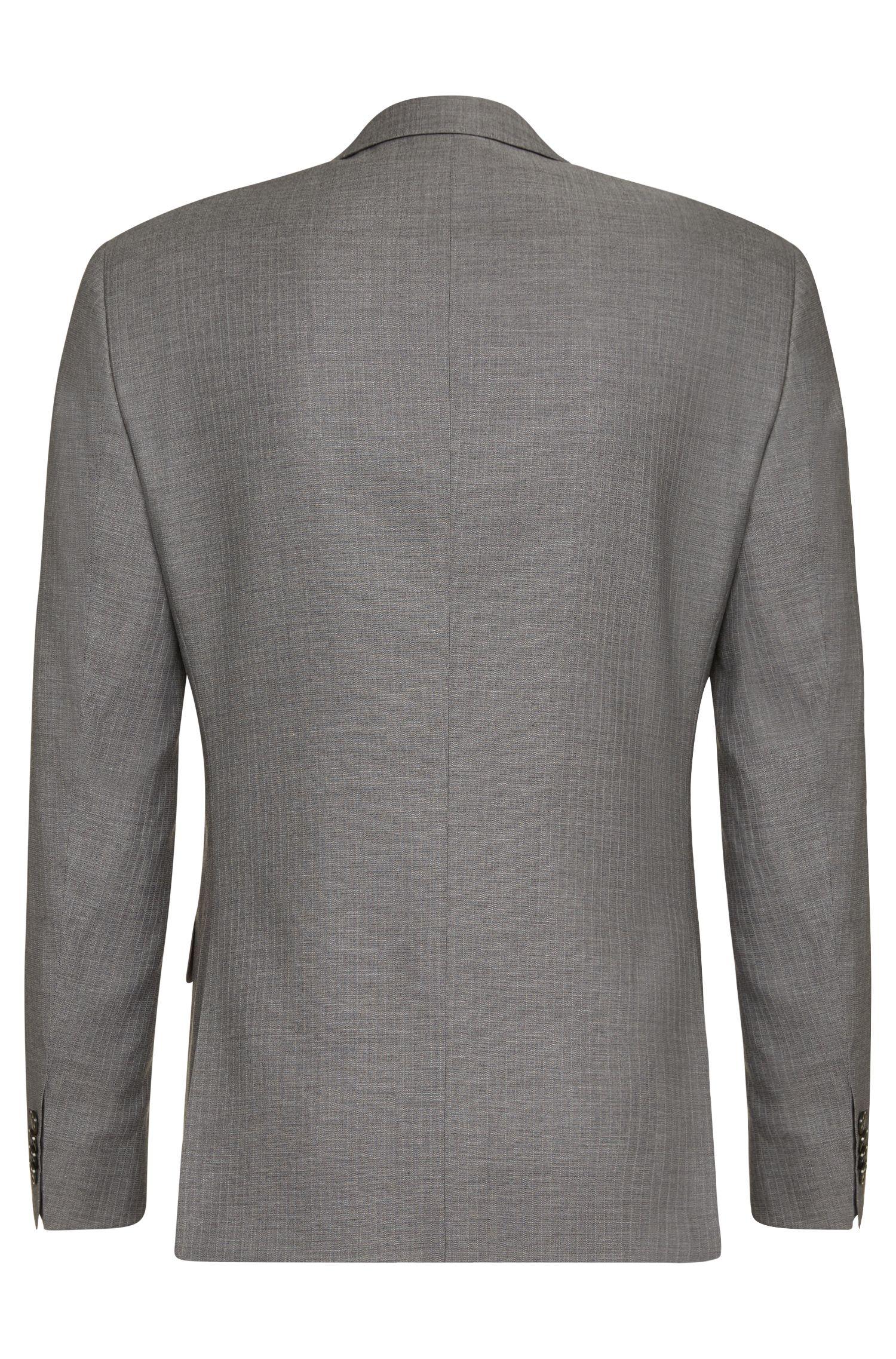 Costume Slim Fit en viscose mélangée à teneur en mohair, laine vierge et soie: «Hutson3/Gander1»