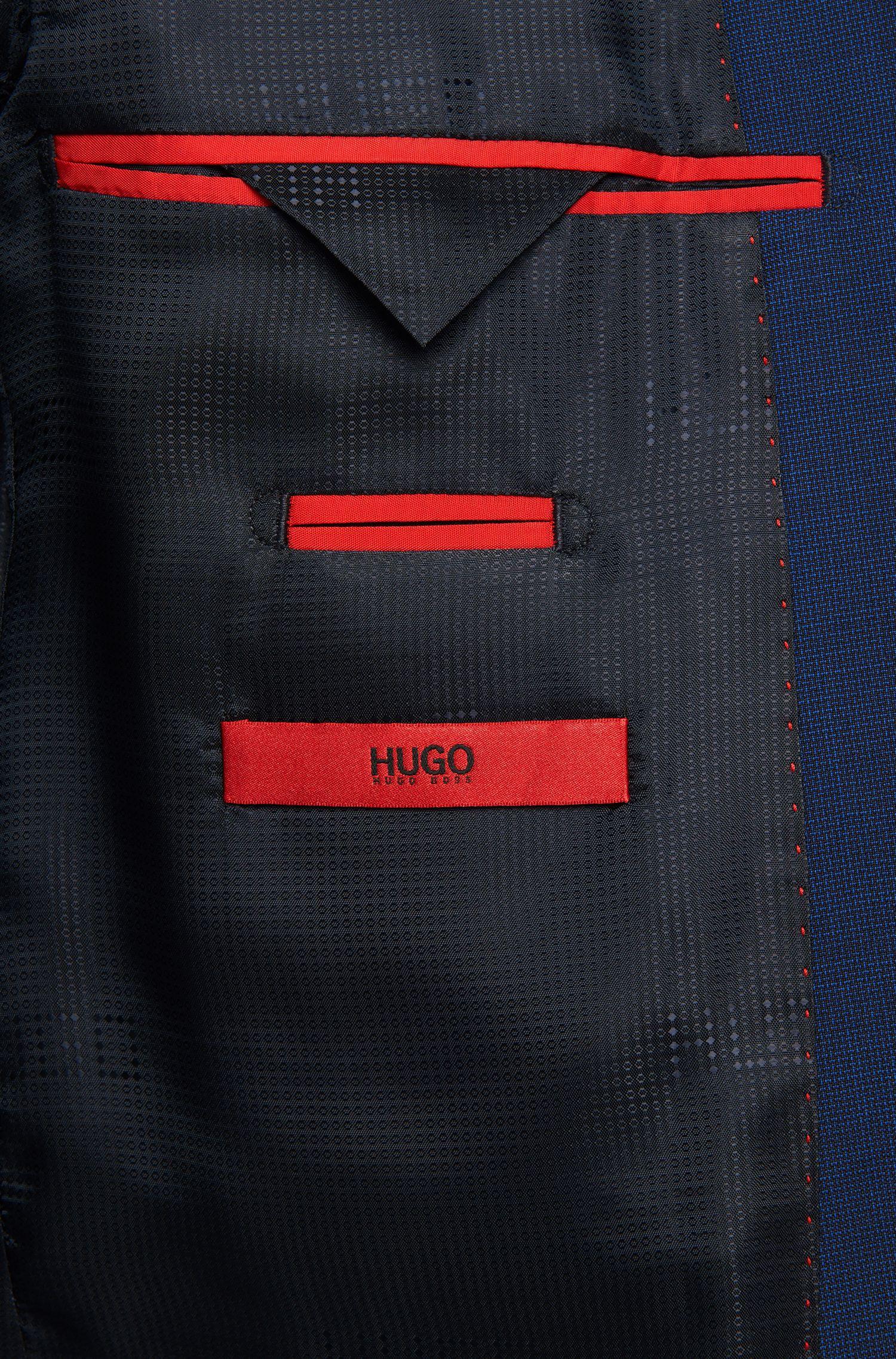 Slim-Fit Anzug aus reiner Schurwolle: 'Aeron2/Hamen2'