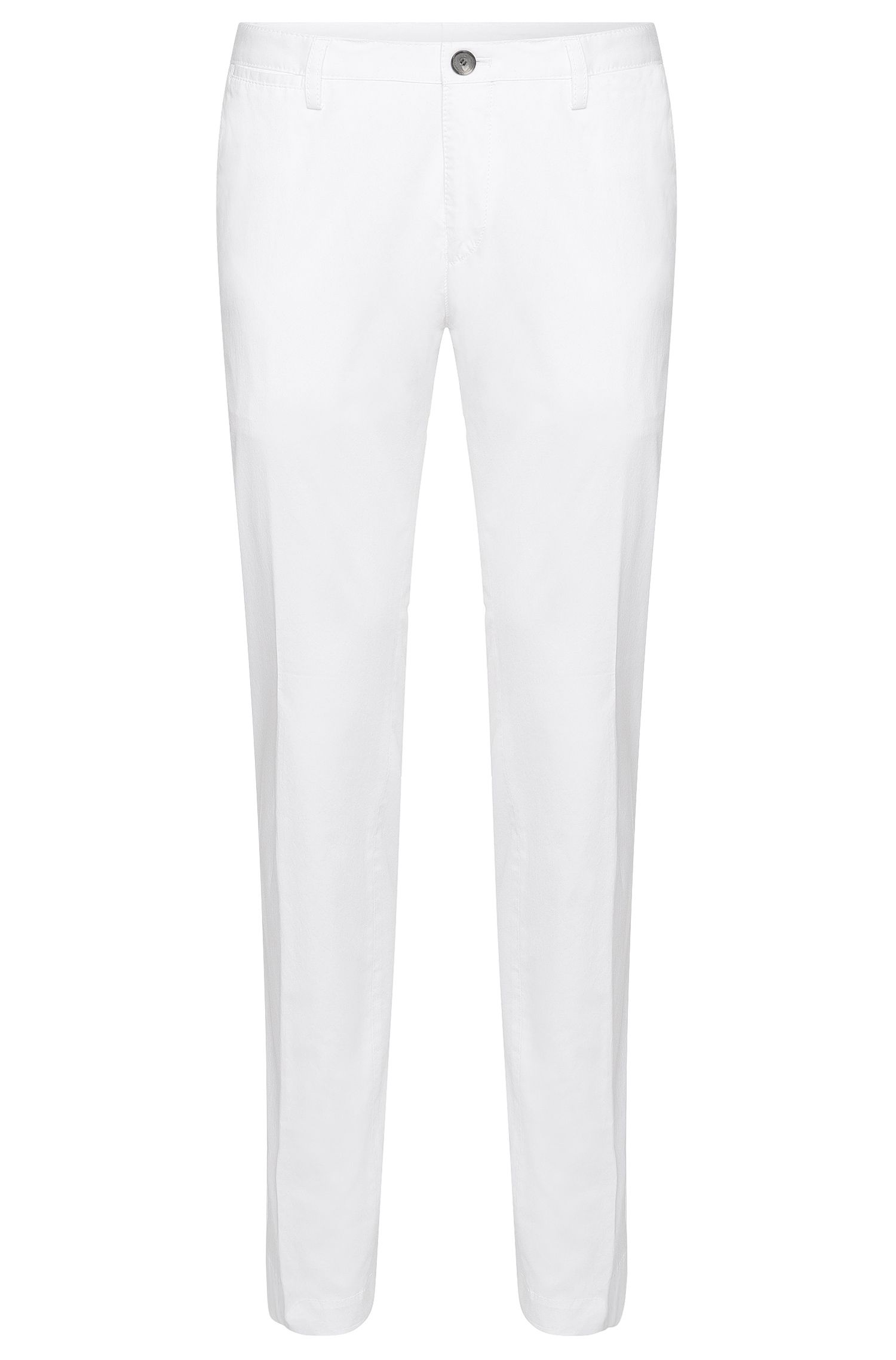 Pantalon Slim Fit en coton extensible : « Stanino14-W »