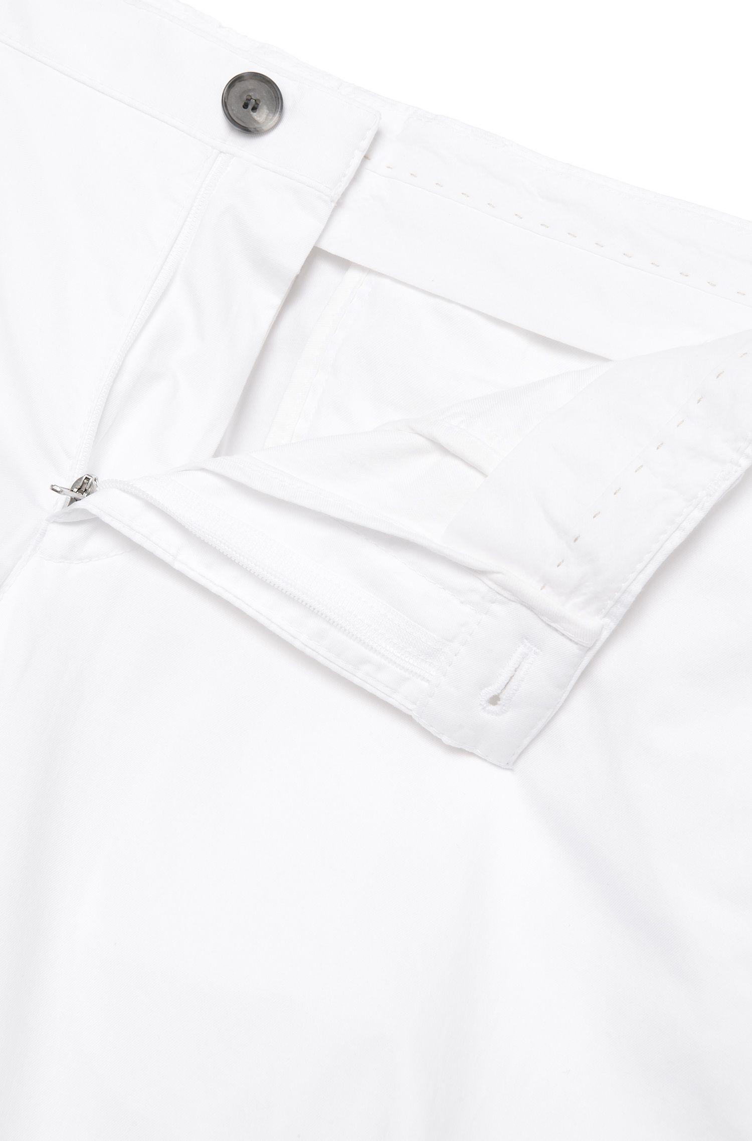 Pantalon Slim Fit en coton extensible: «Stanino14-W»