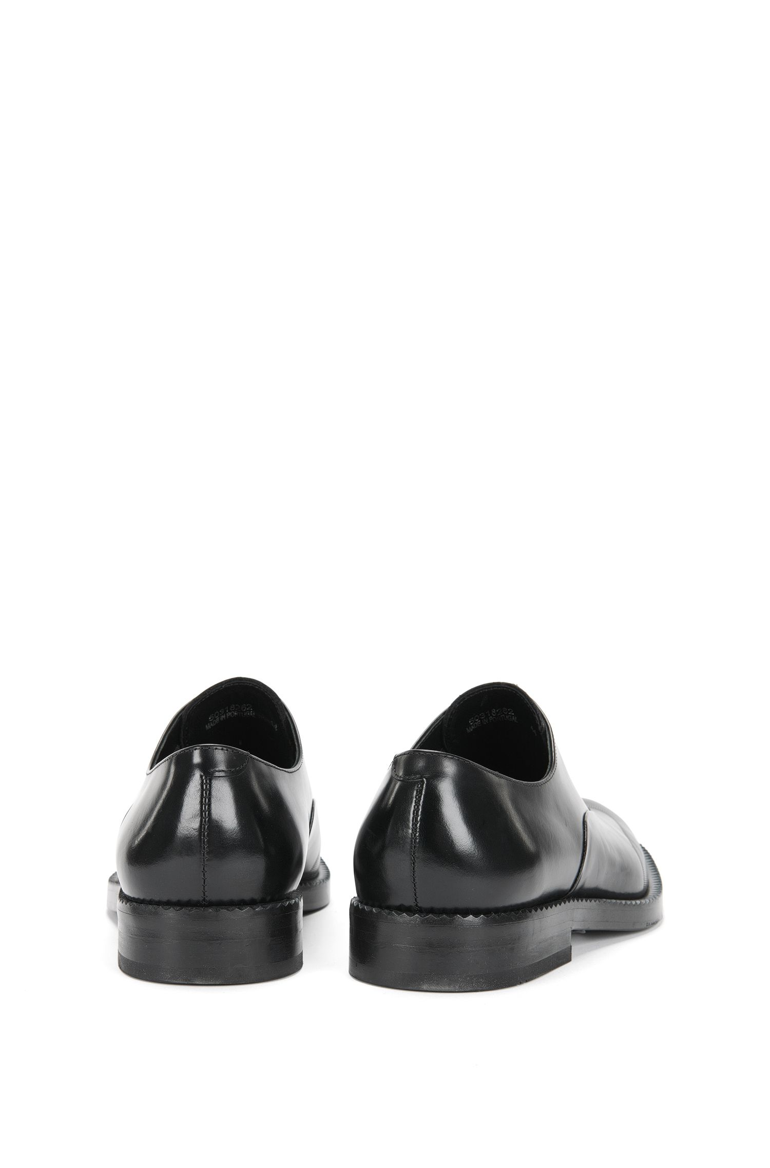 Loafer aus glattem Leder mit Reißverschluss: 'Mono-Loaf-boals'