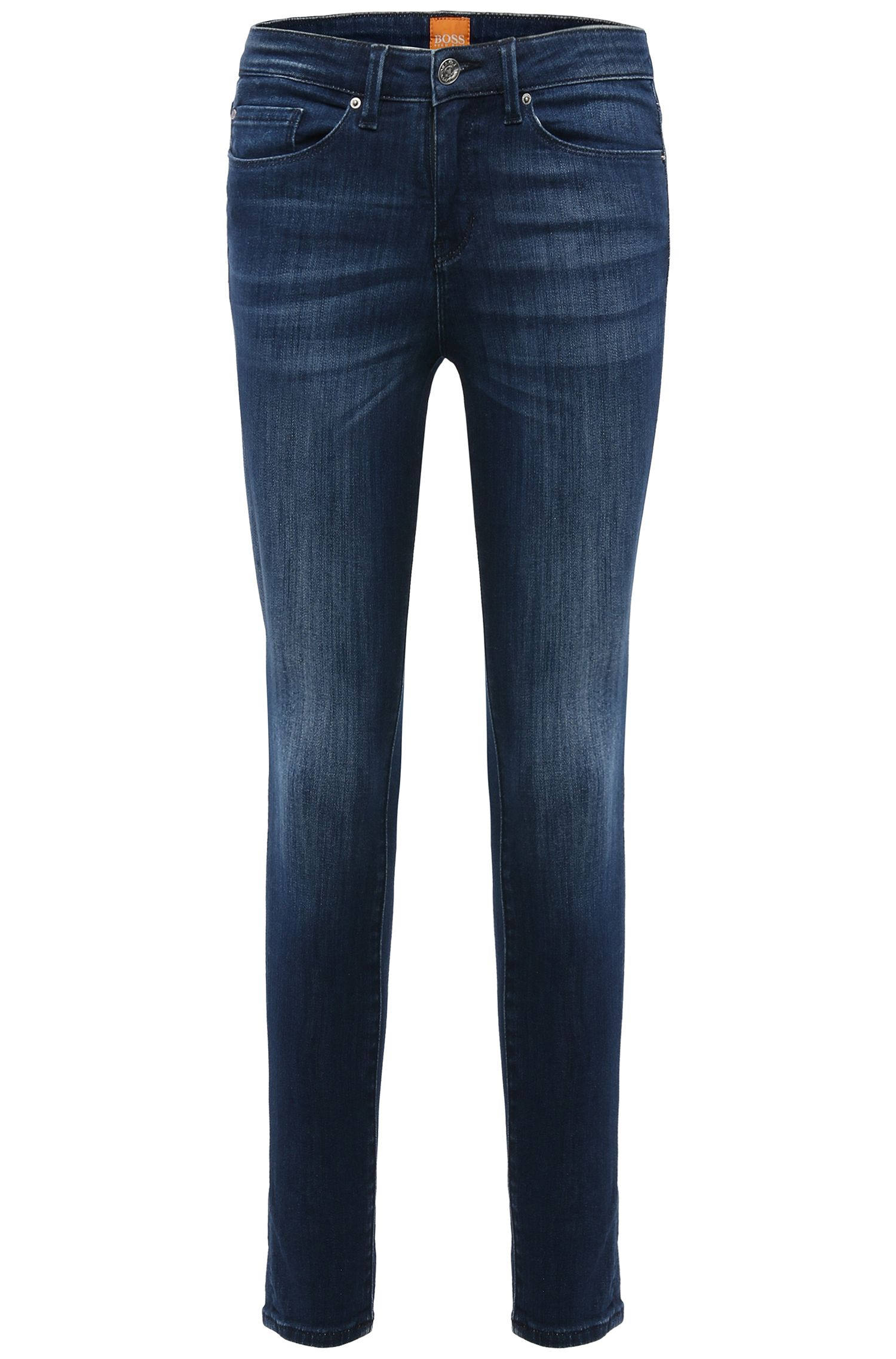 Enkellange slim-fit jeans van stretchkatoen: 'Orange J10 Florida'