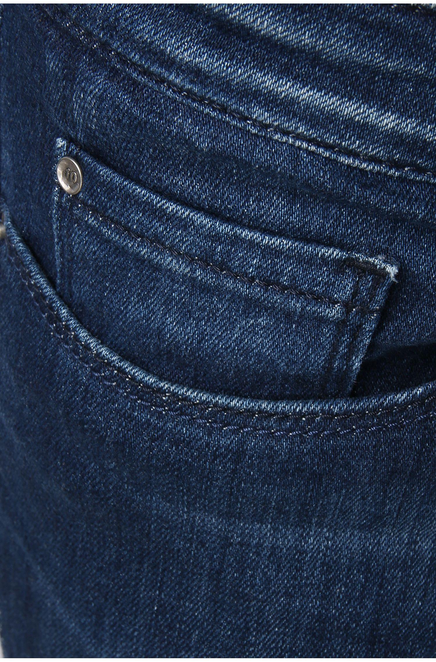 Knöchellange Slim-Fit Jeans aus Stretch-Baumwolle: ´Orange J10 Florida`