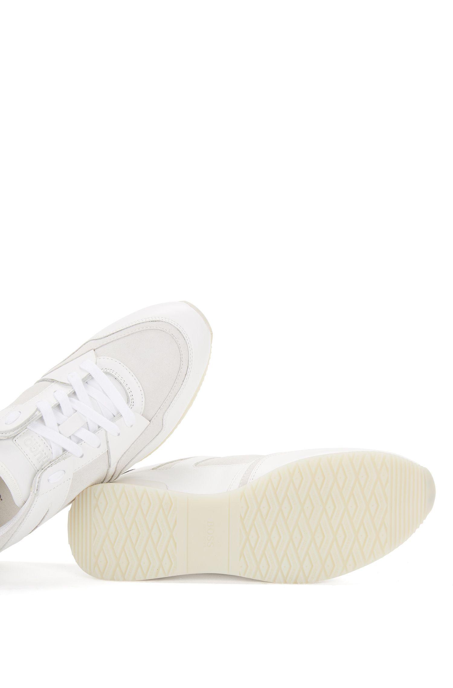 Sneakers aus Leder im Struktur-Mix: 'Adrenne'