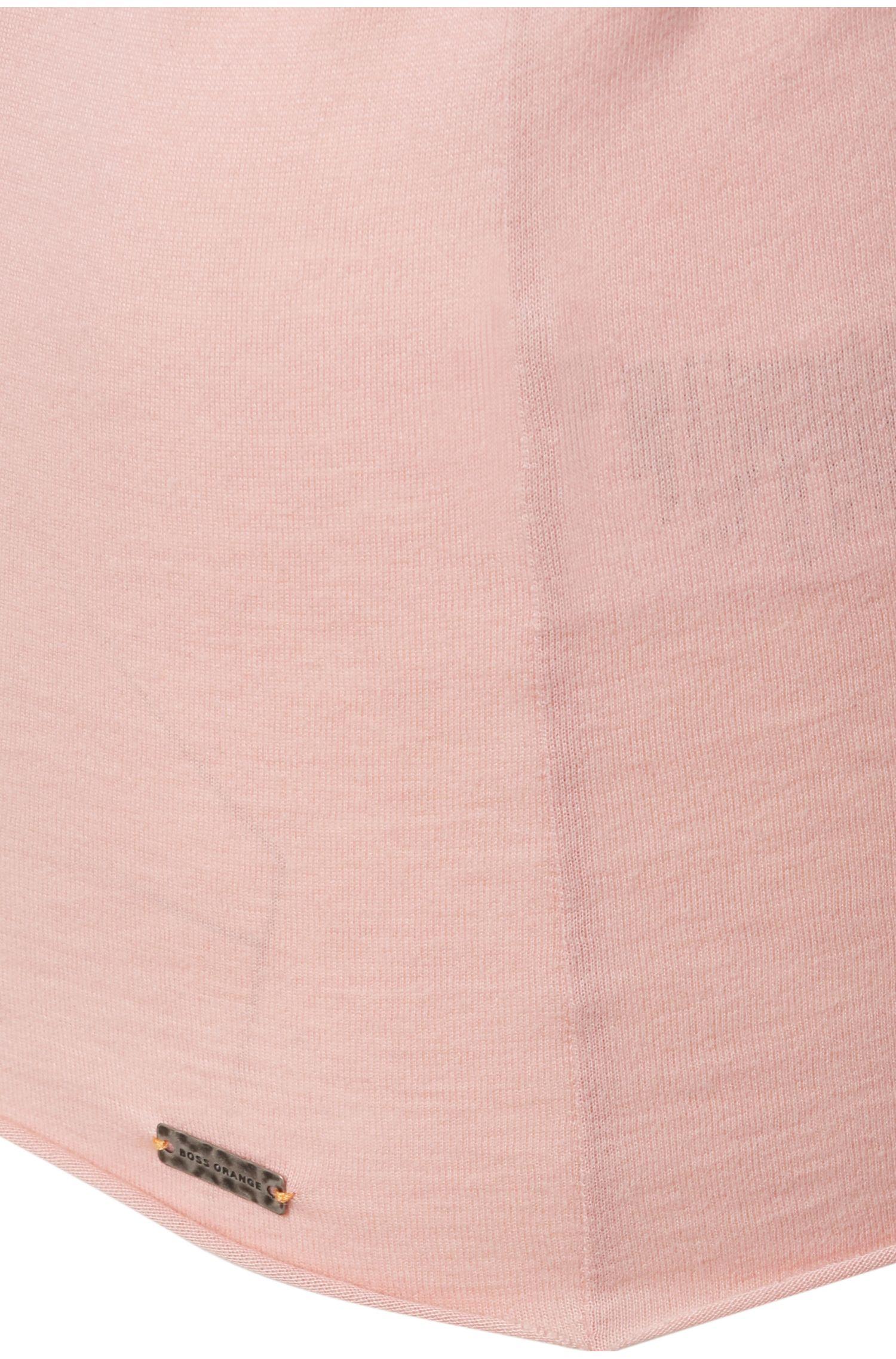 Slim-Fit Shirt aus Baumwoll-Mix mit Modal: ´Tasensation`