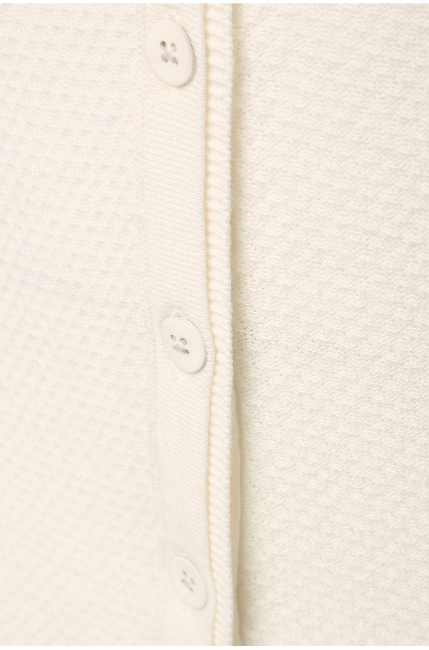 Strukturierter Strick-Cardigan aus Baumwoll-Mix: ´Issy`