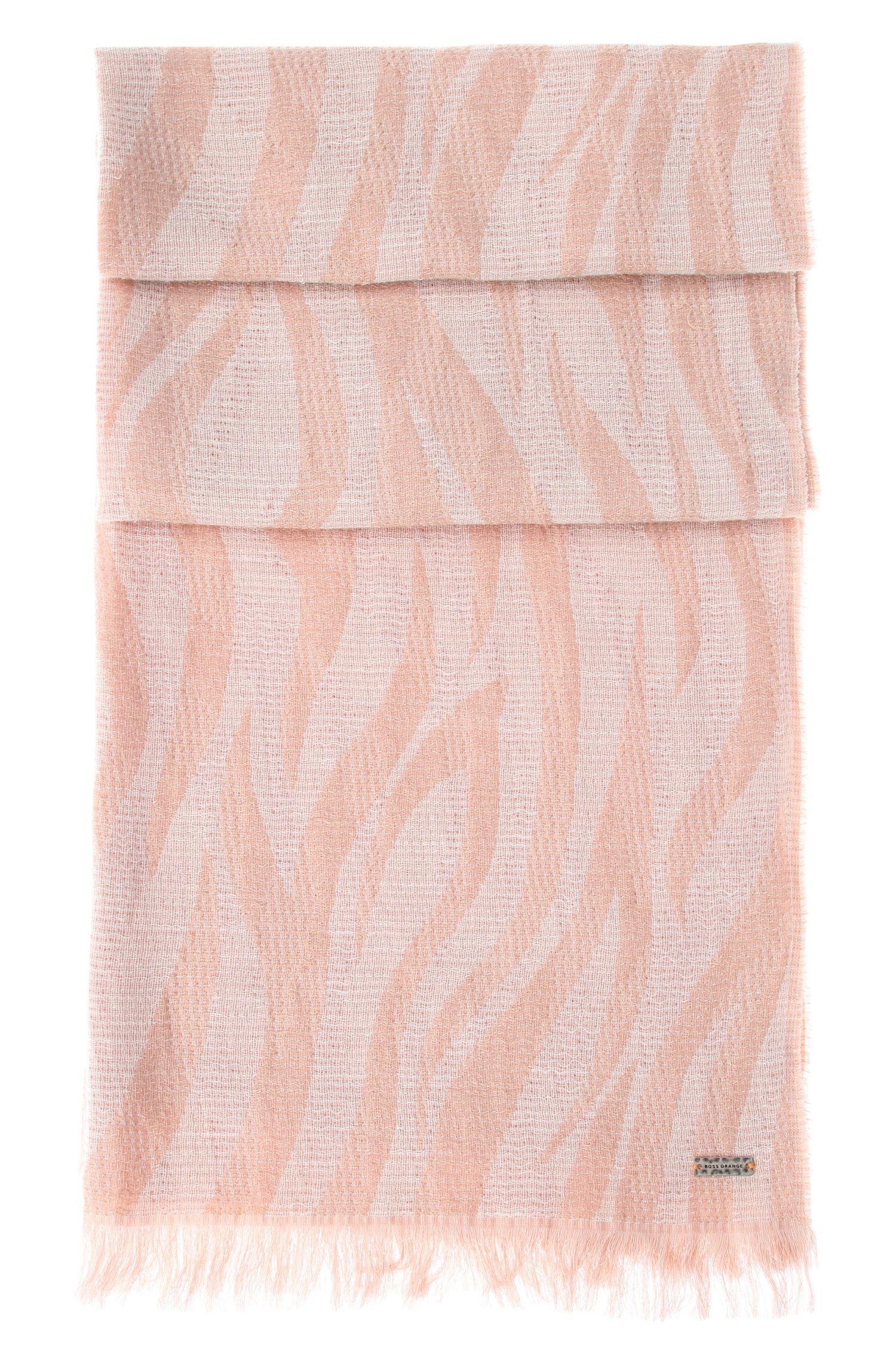 Schal aus Baumwolle und Viskose: ´Nawavy`