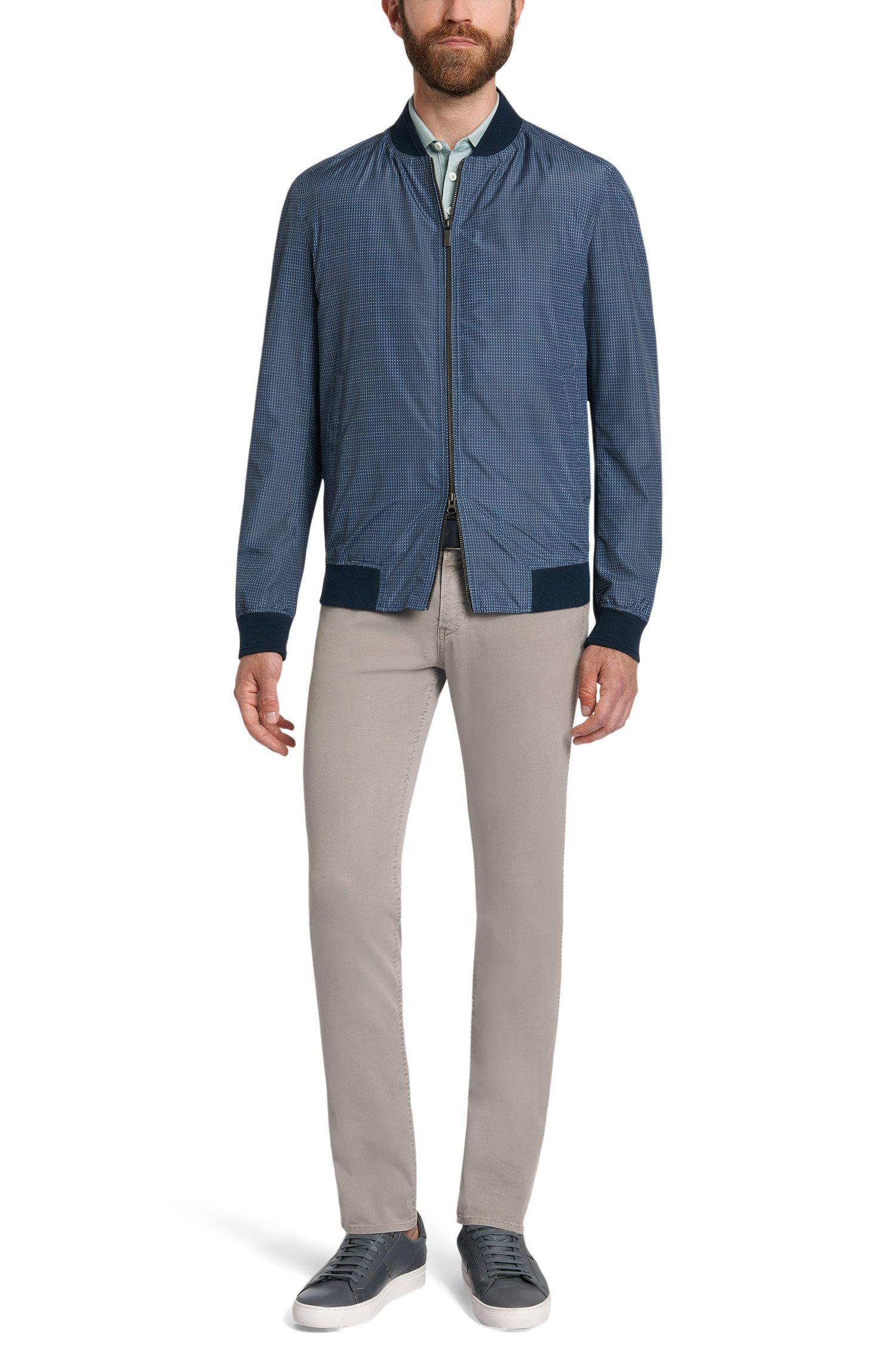 Jeans Slim Fit en coton stretch: «Delaware3-20»
