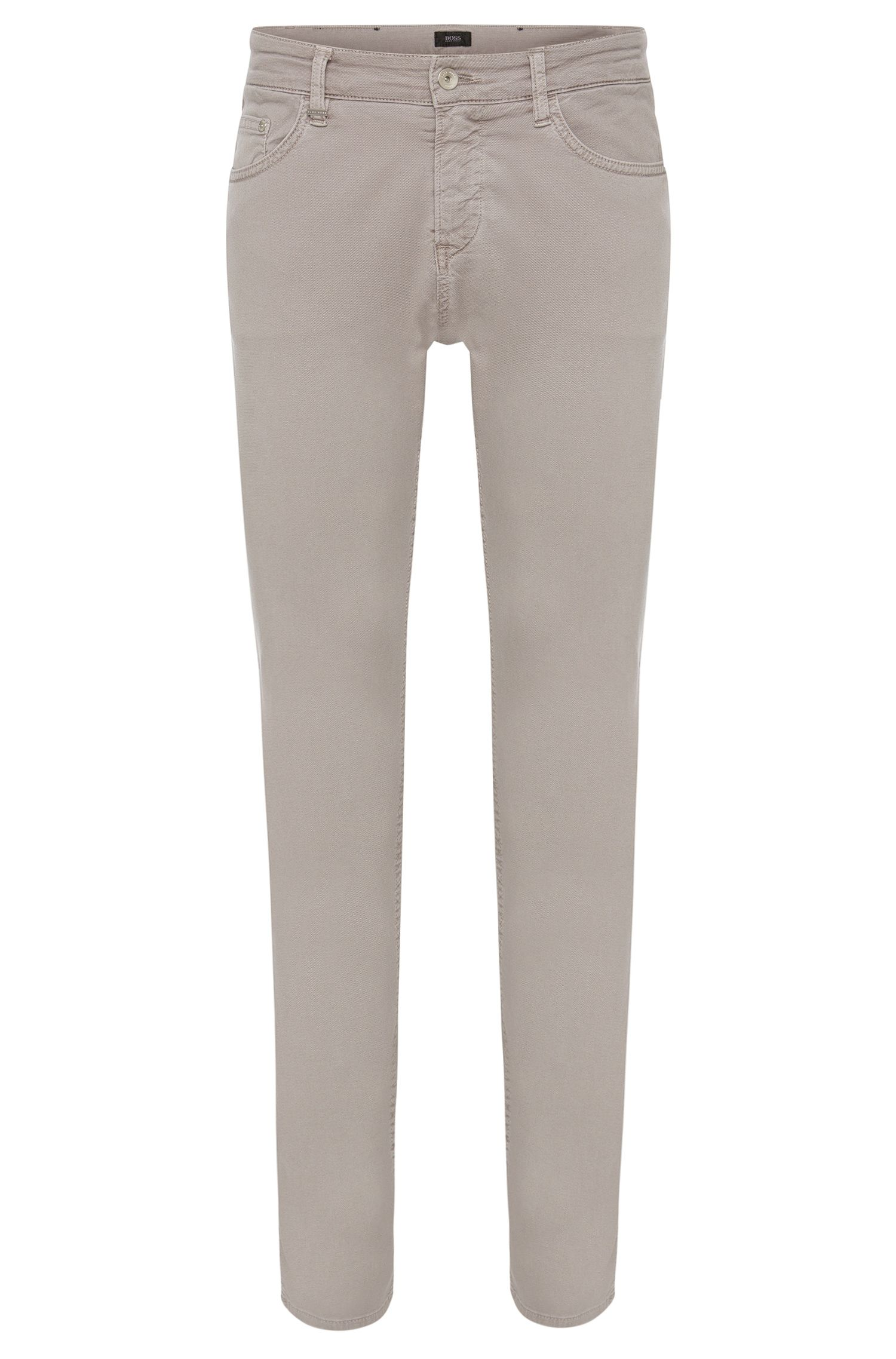 Jeans Slim Fit en coton stretch : « Delaware3-20 »