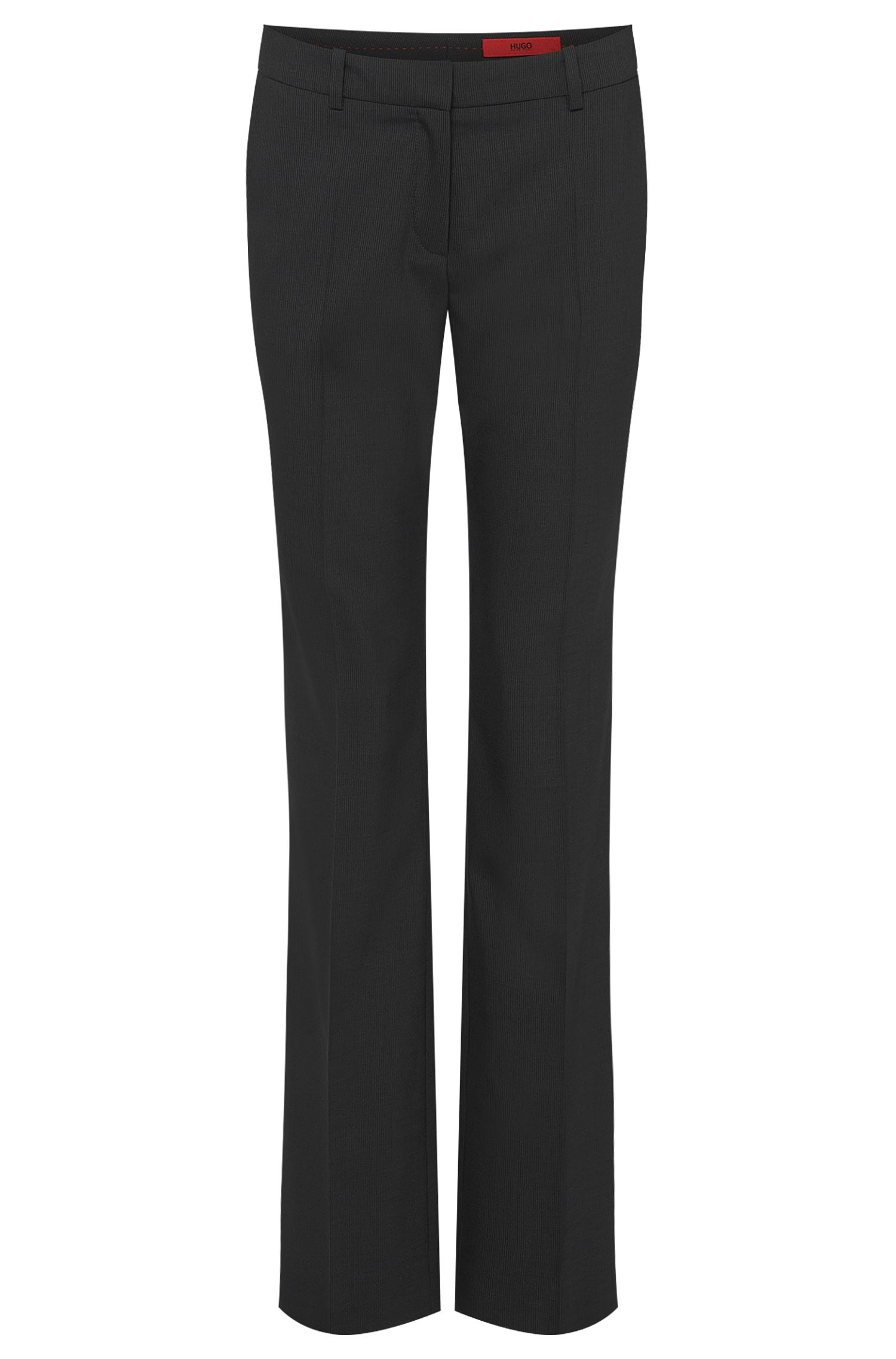 Pinstripe trousers in stretchy new wool: 'Hinass-5'
