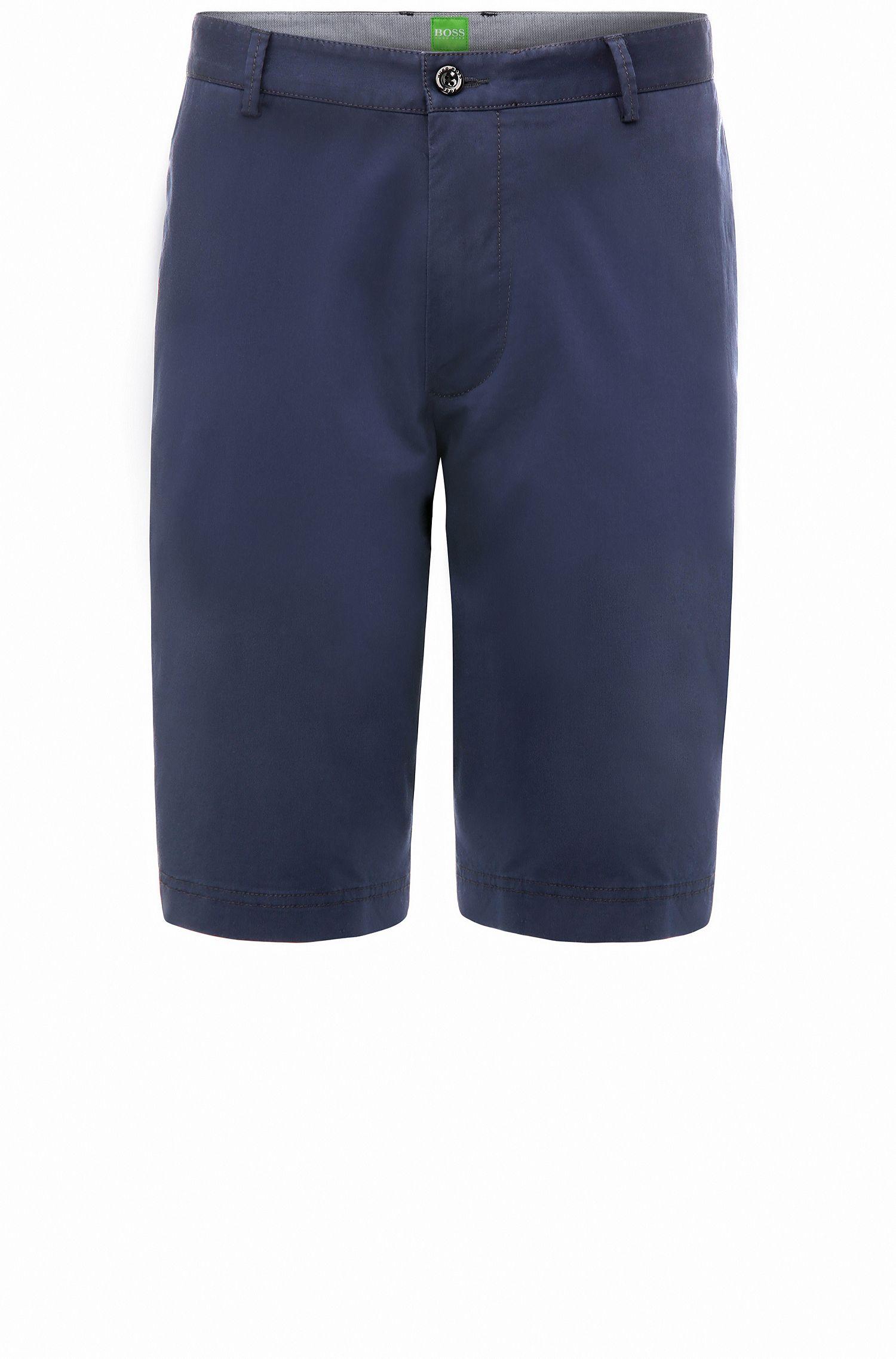 Regular-Fit Chino-Shorts aus Stretch-Baumwolle: ´B-Claydon-W`