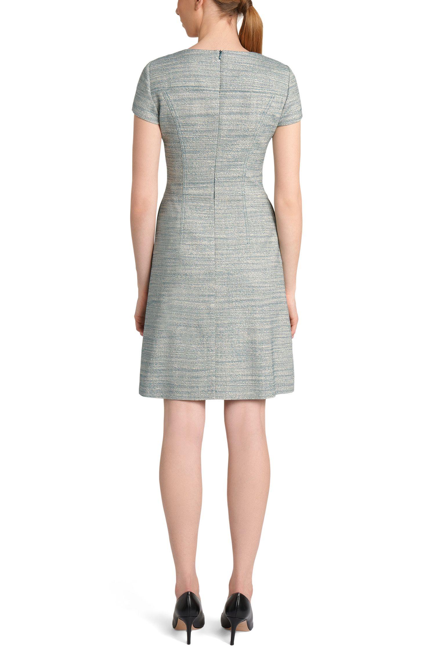 Tailliertes Kleid aus Baumwoll-Mix: 'Kimore'
