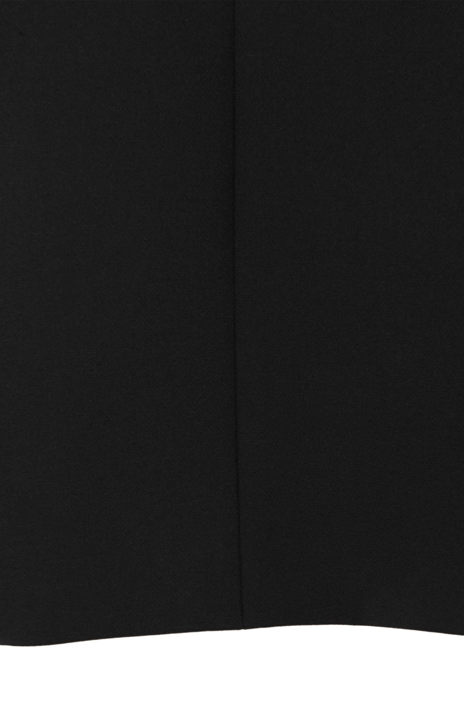 Mantel aus Material-Mix mit 3/4-Ärmeln: 'Mathia'