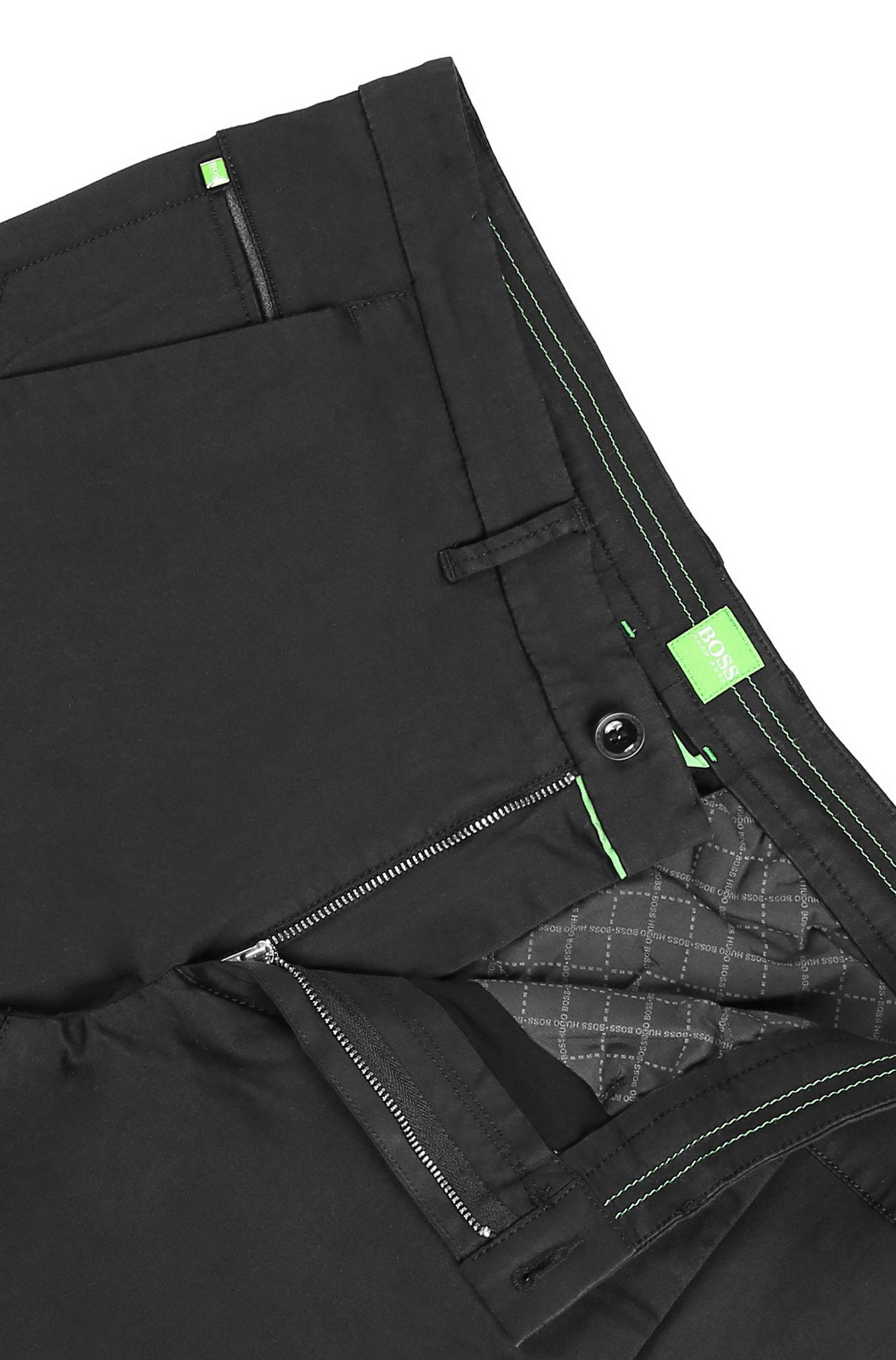 Slim-Fit Hose aus Baumwoll-Mix mit Viskose und Elasthan: ´Leeman3-3-W`