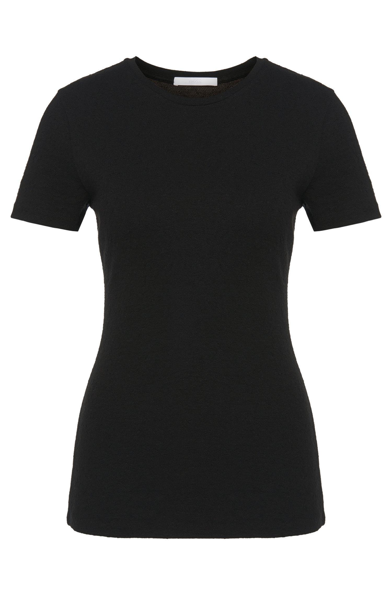 Top in jersey in misto viscosa elasticizzato: 'Evelia'