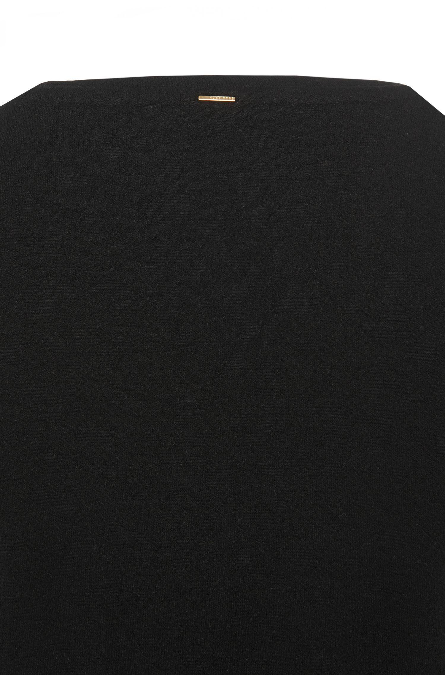 Jerseytop van een elastische viscosemix: 'Evelia'