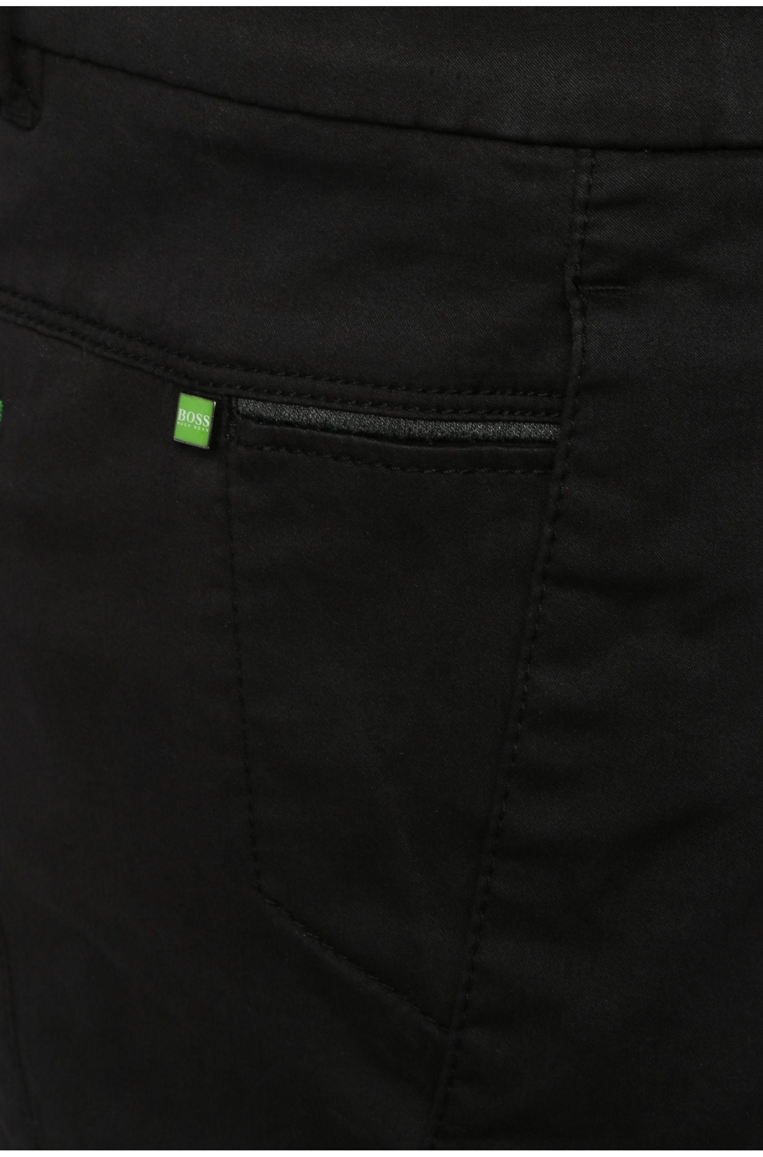 Short Slim Fit en mélange de coton et de viscose extensible: «Liem2-2-W»