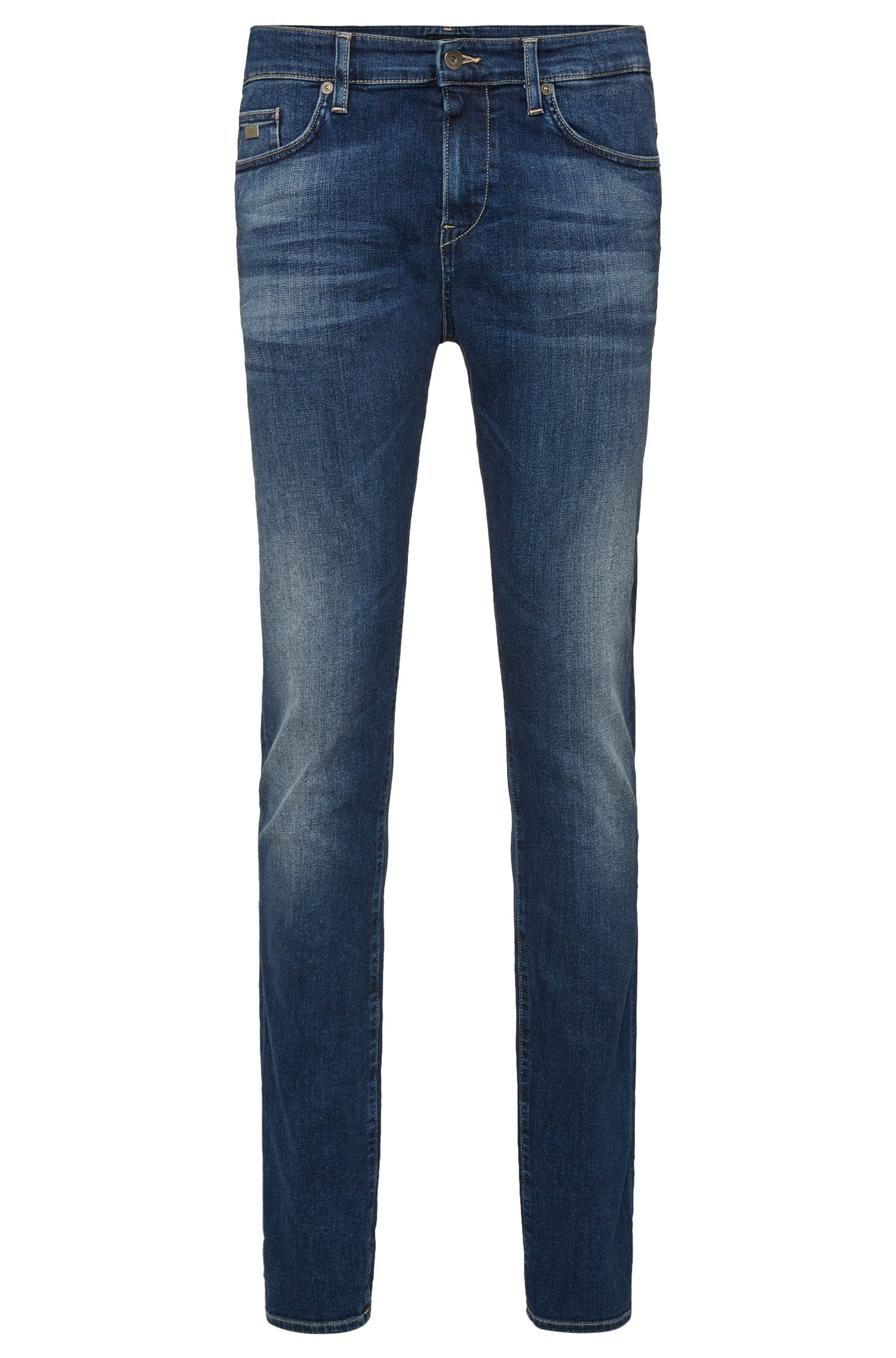 Slim-fit jeans in stretch cotton: 'Delaware3-1'