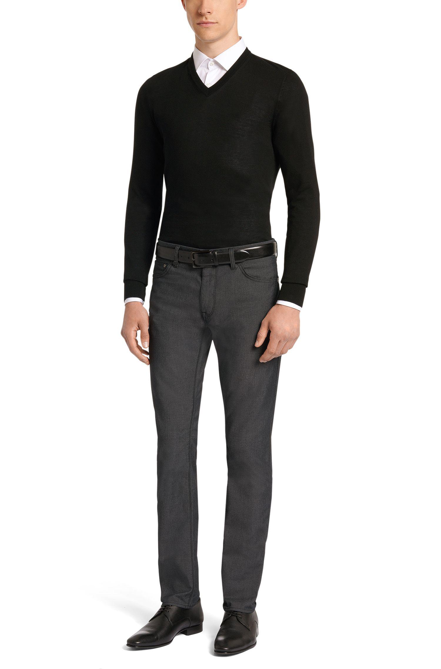 Regular-Fit Jeans aus Baumwoll-Mix: 'Maine4-20'