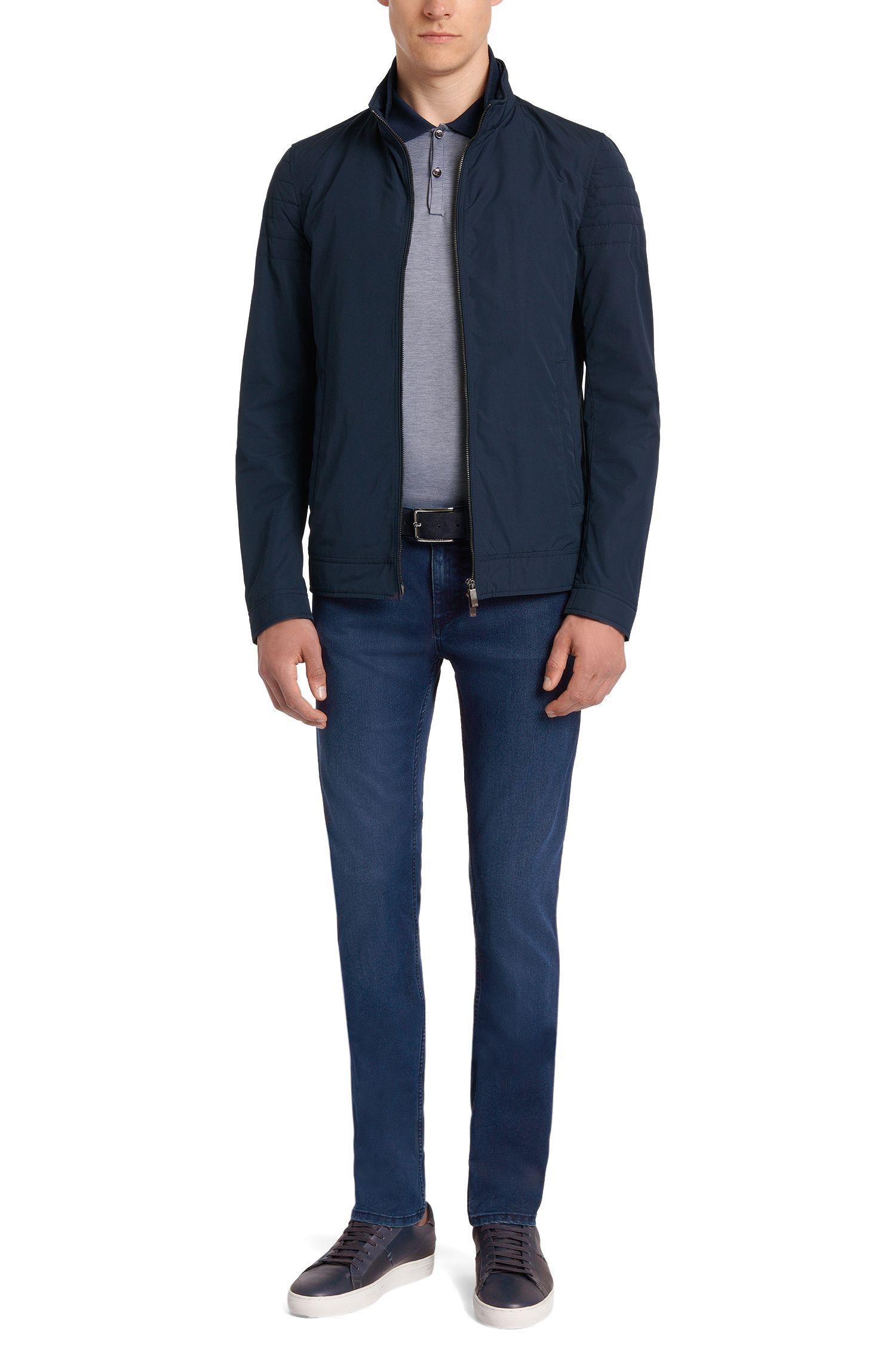 Jeans Slim Fit en coton mélangé: «Charleston3»