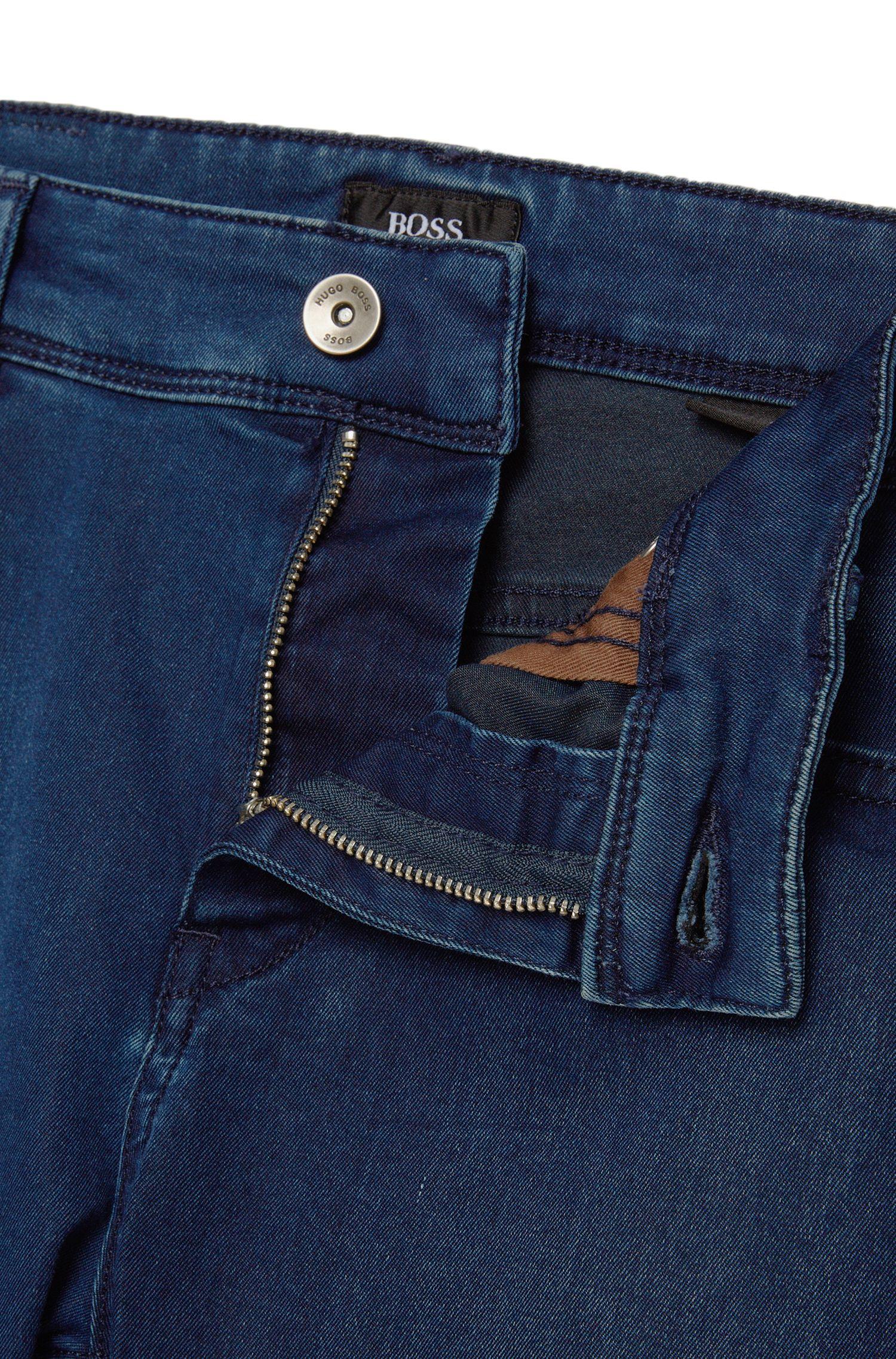 Slim-fit jeans van een katoenmix: 'Charleston3'