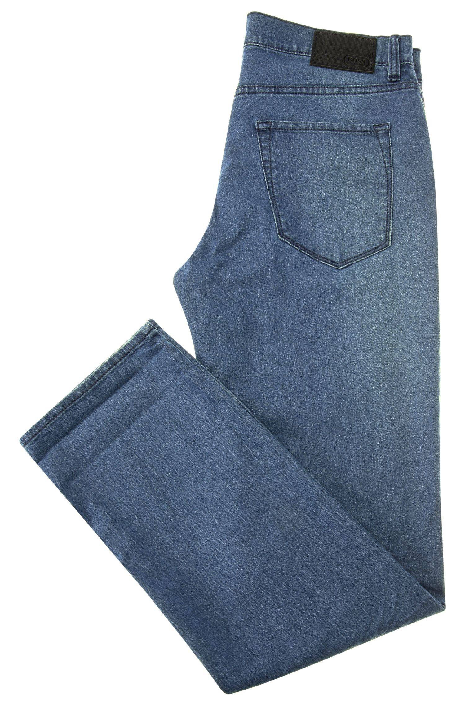 Jeans Regular Fit en coton extensible : « C-MAINE1 »